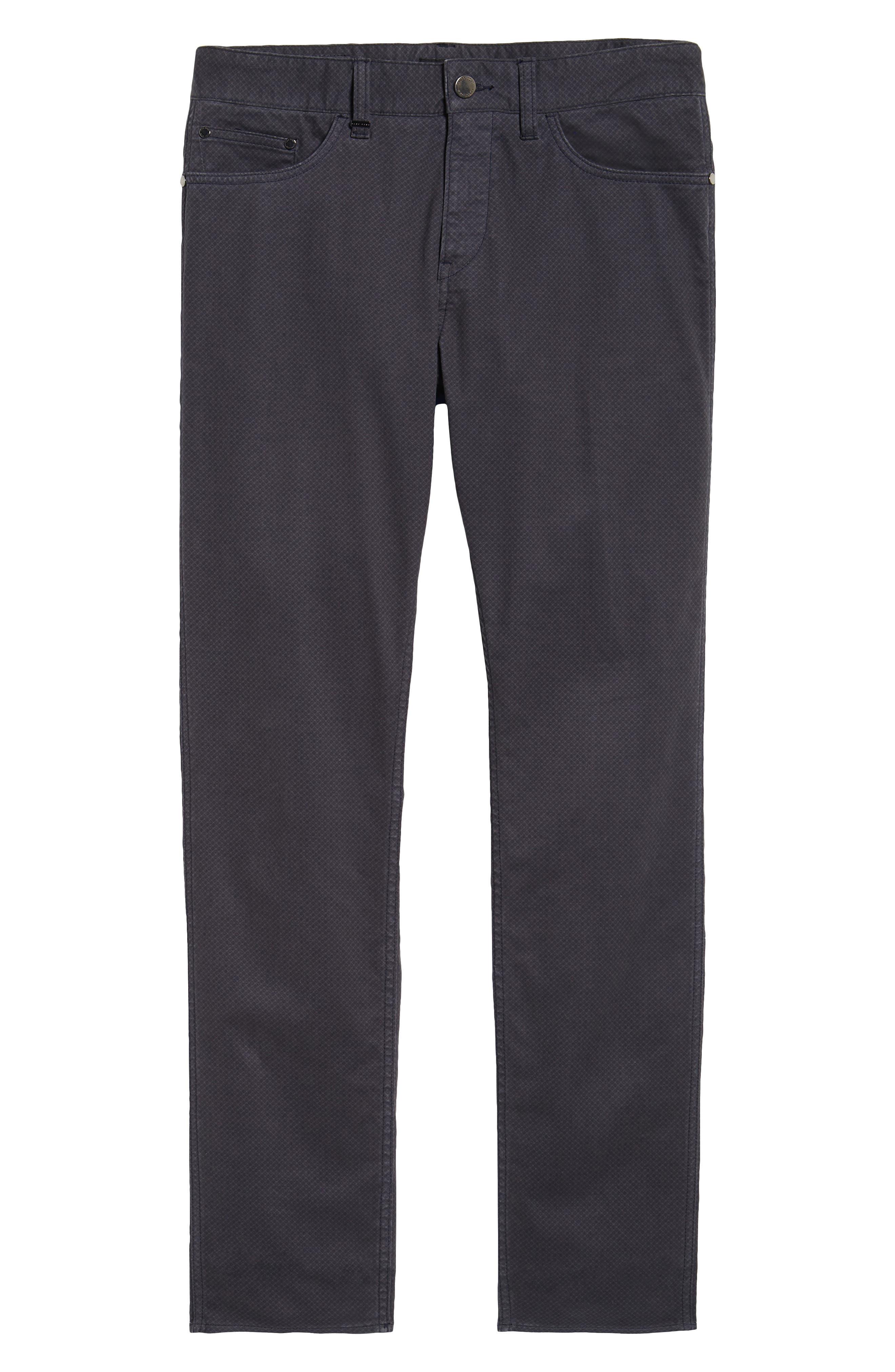 Delaware Slim Fit Pants,                             Alternate thumbnail 6, color,                             022