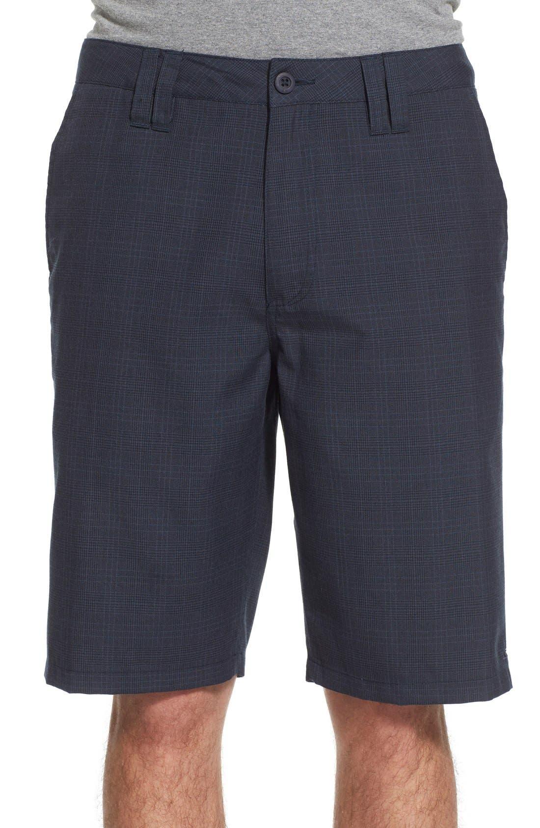 'Delta Plaid' Chino Shorts,                             Main thumbnail 4, color,