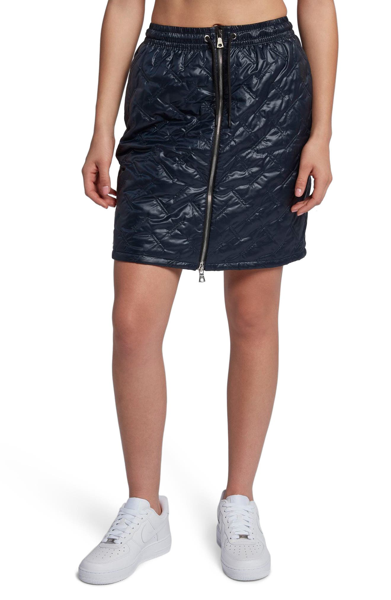 NIKE,                             NikeLab Essentials Insulated Skirt,                             Main thumbnail 1, color,                             475
