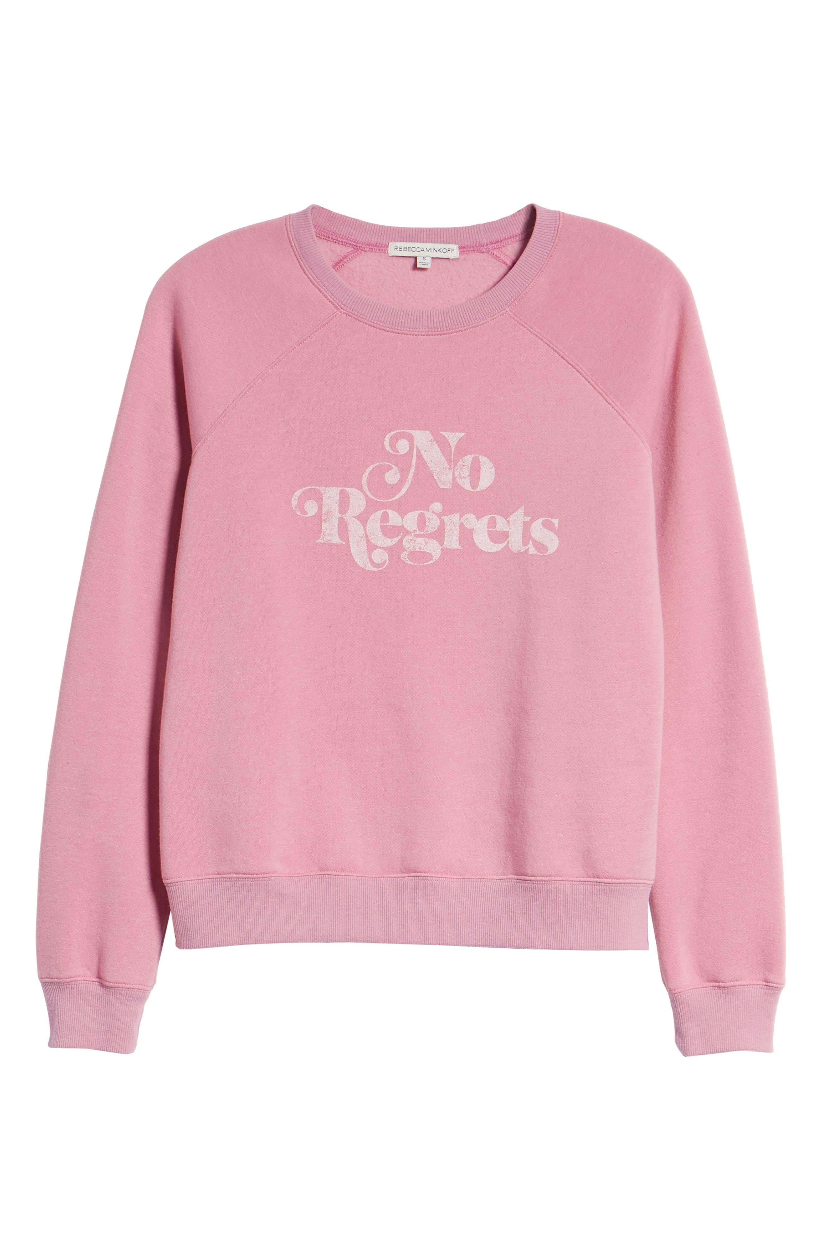 No Regrets Sweatshirt,                             Alternate thumbnail 6, color,                             664