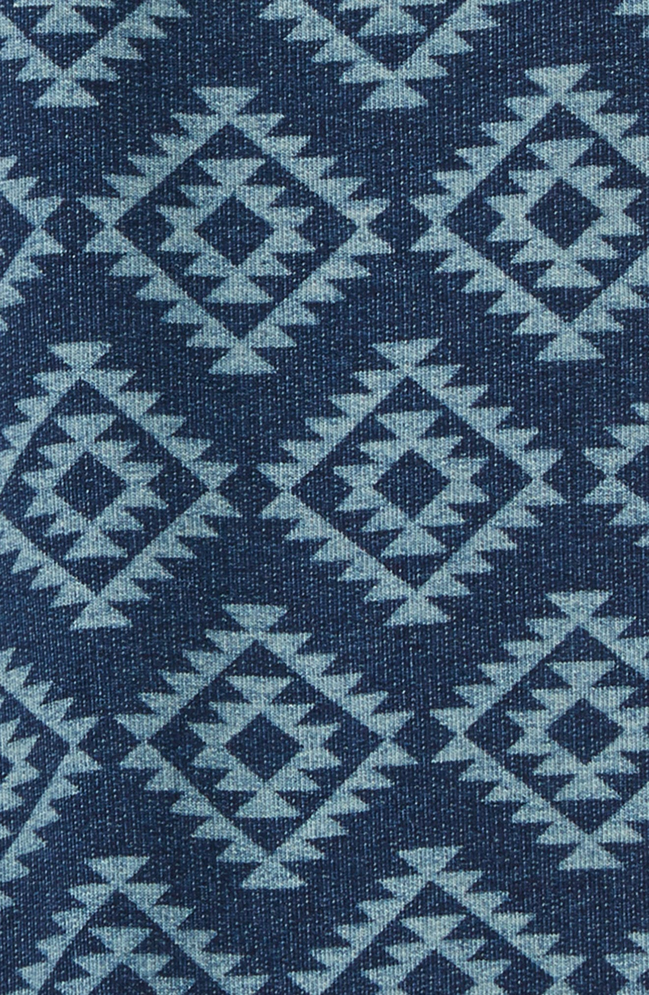 Brody Print Knit Shorts,                             Alternate thumbnail 2, color,                             410