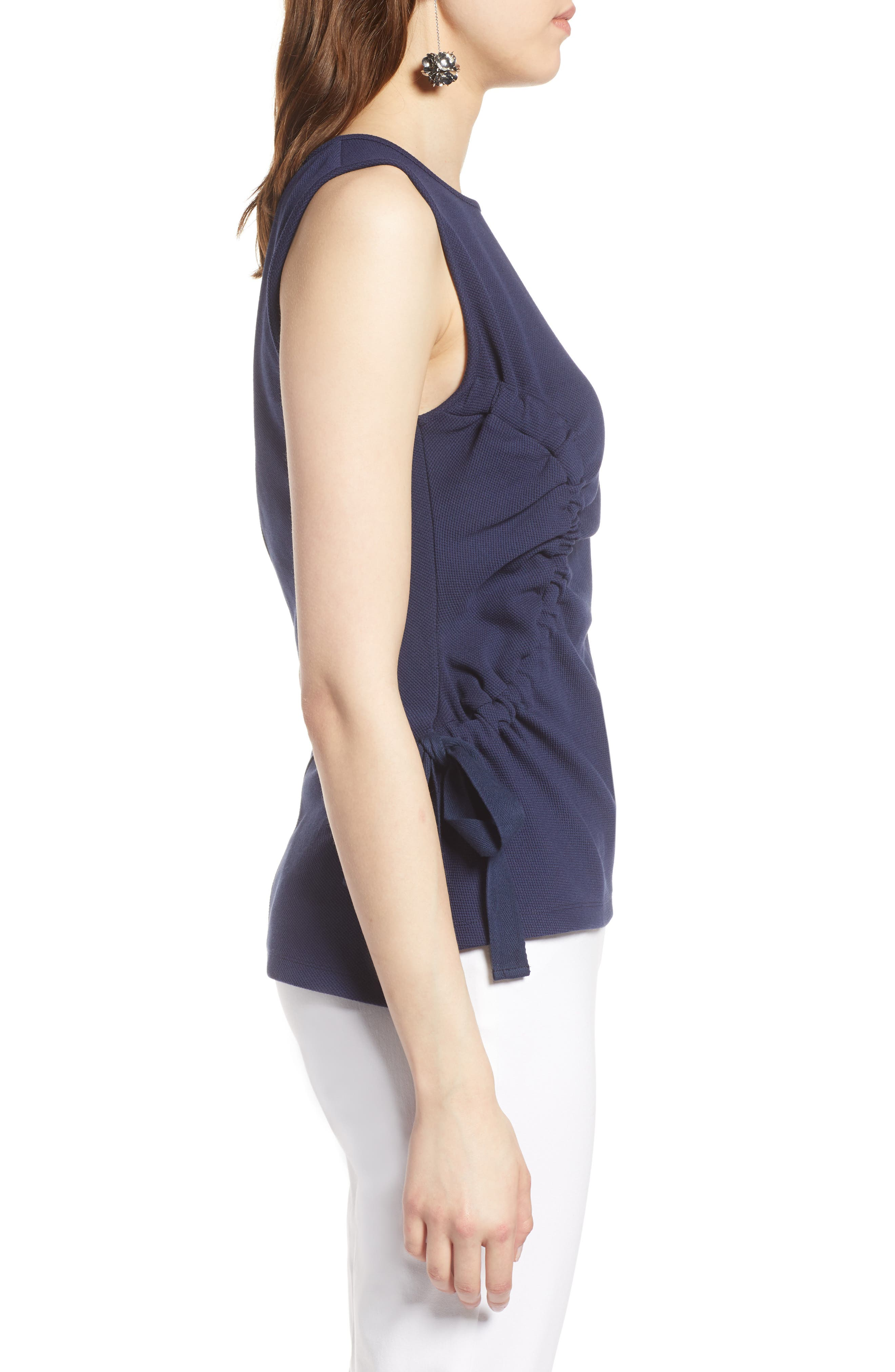 Ruched Tank Top,                             Alternate thumbnail 9, color,