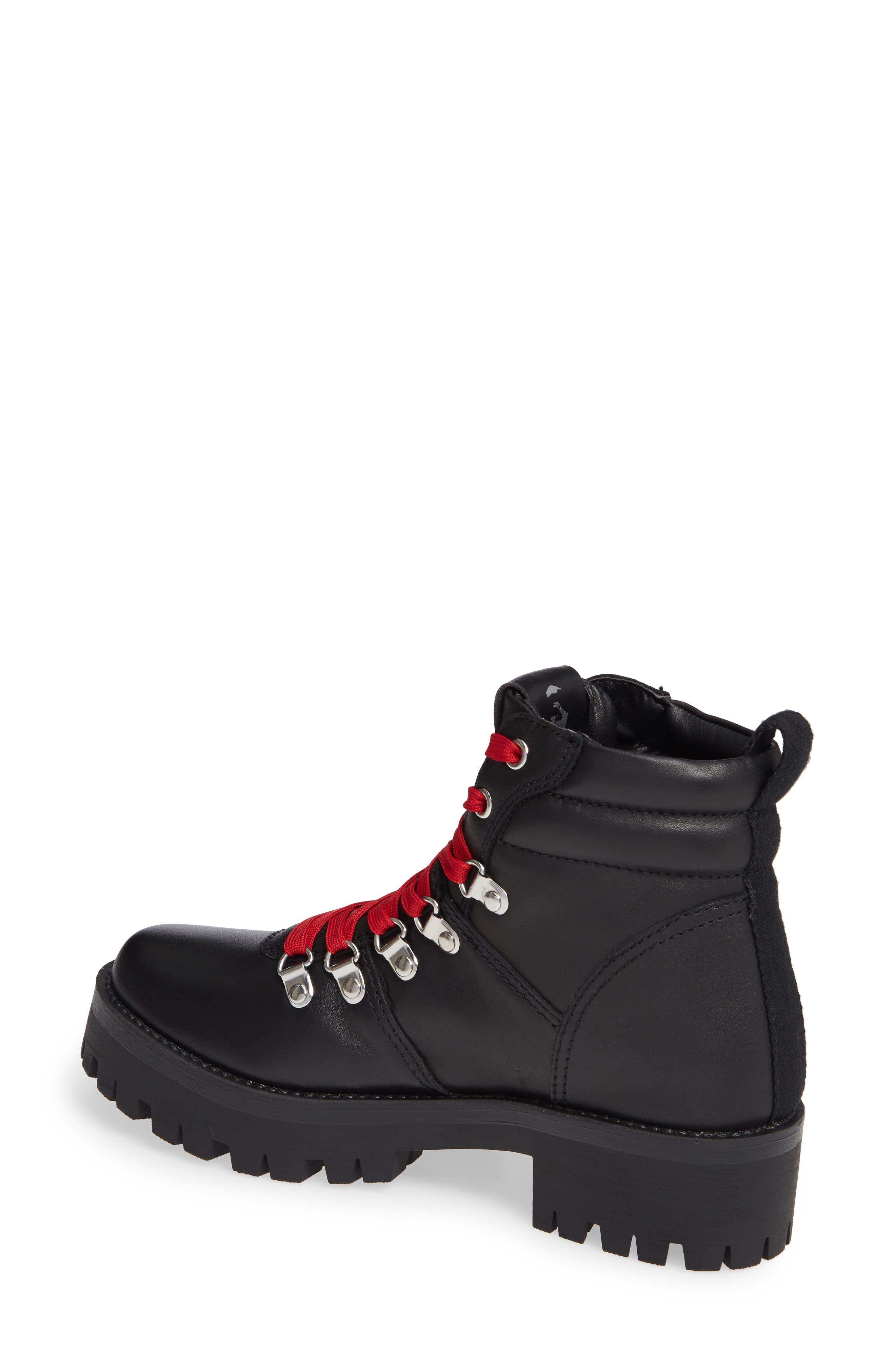 Buzzer Boot,                             Alternate thumbnail 2, color,                             BLACK LEATHER