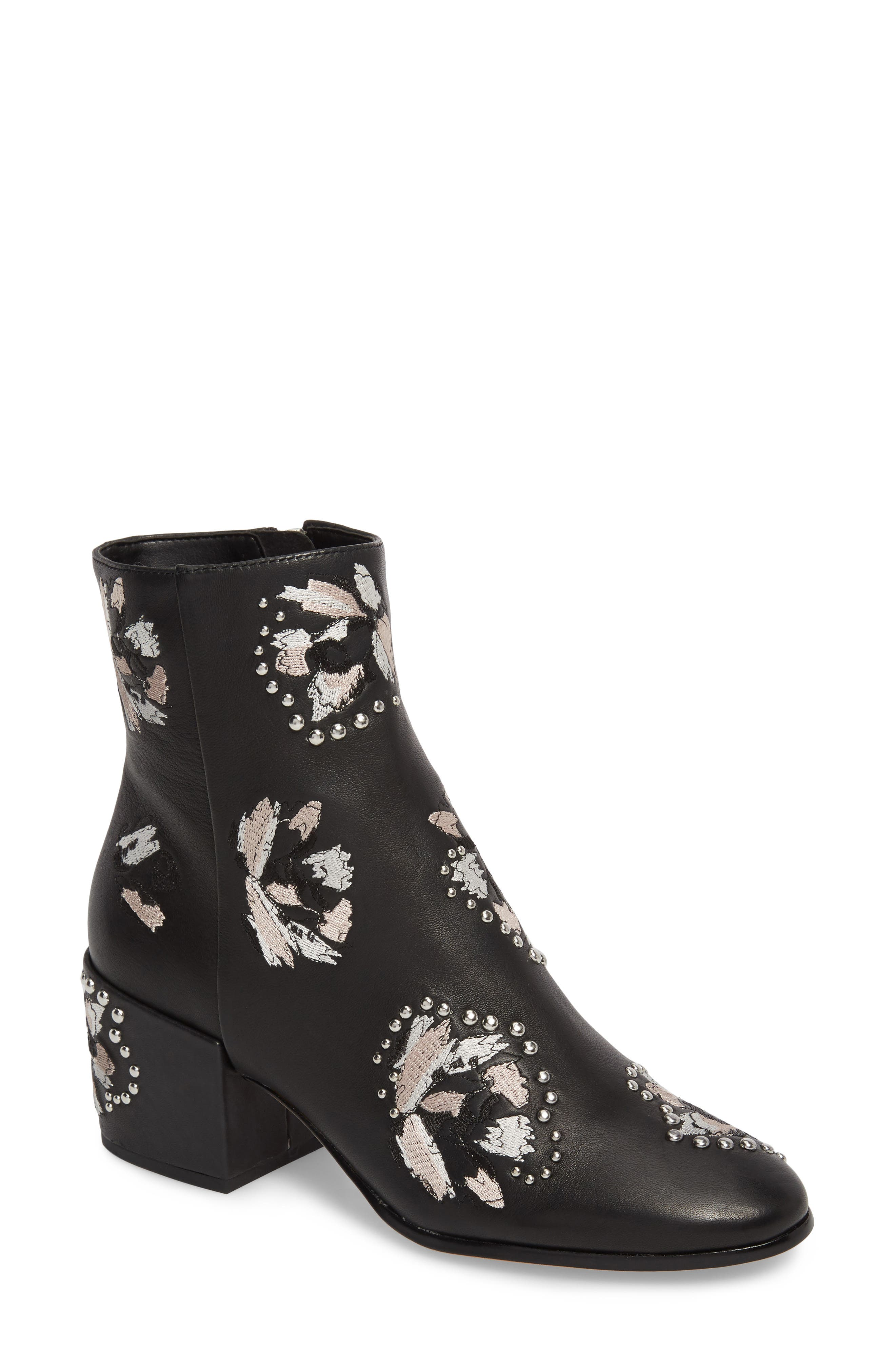 Mollie Embellished Bootie,                         Main,                         color,