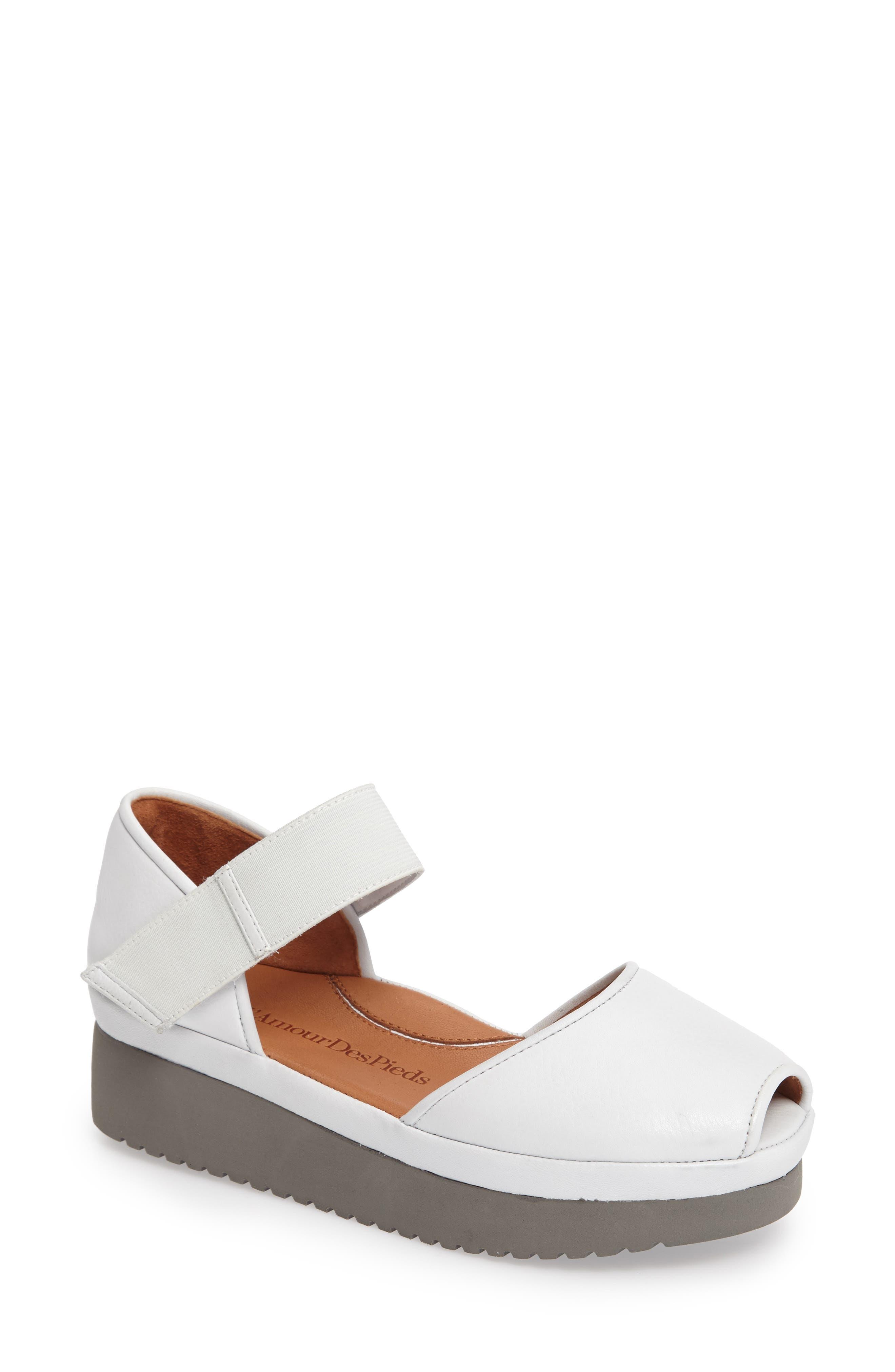 'Amadour' Platform Sandal,                             Main thumbnail 5, color,