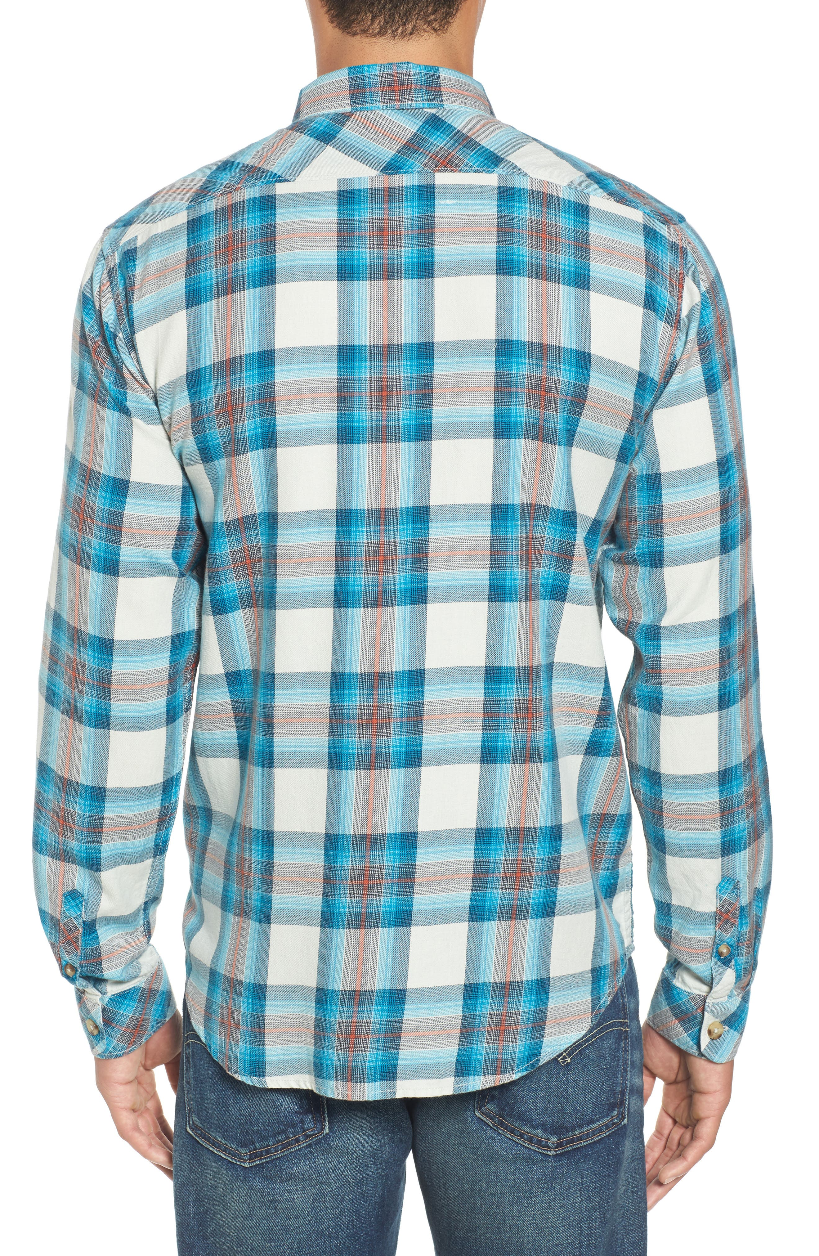 Freemont Flannel Shirt,                             Alternate thumbnail 2, color,                             020