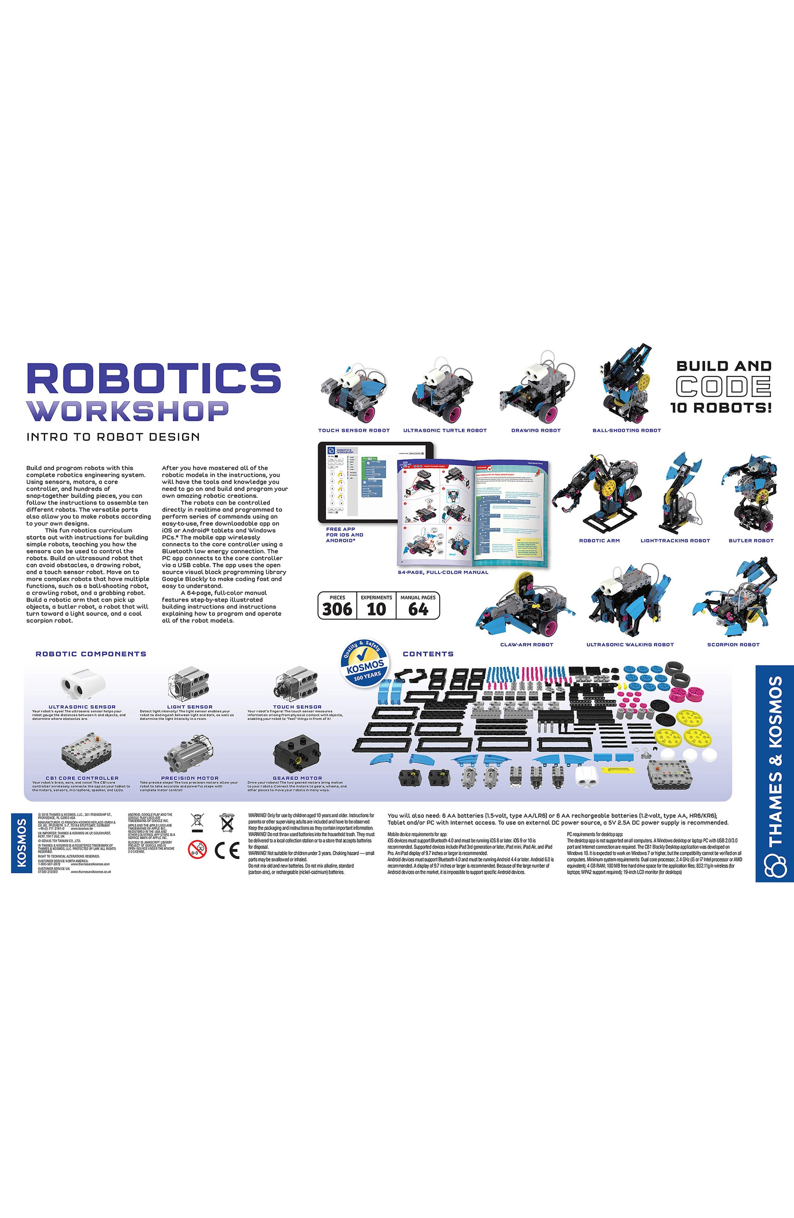 Robotics Building Kit,                             Alternate thumbnail 2, color,                             NO COLOR