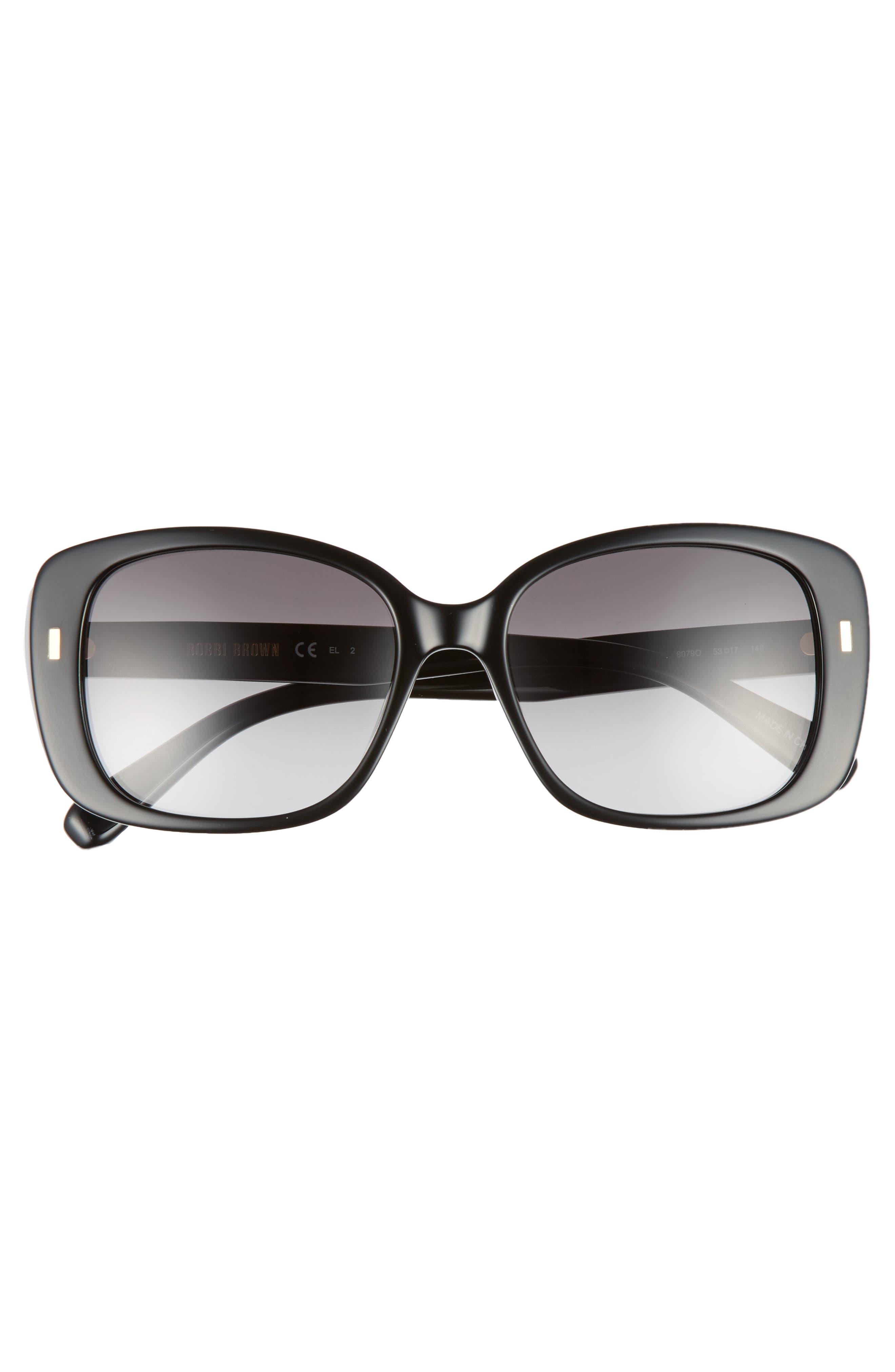 The Audrey 53mm Square Sunglasses,                             Alternate thumbnail 9, color,