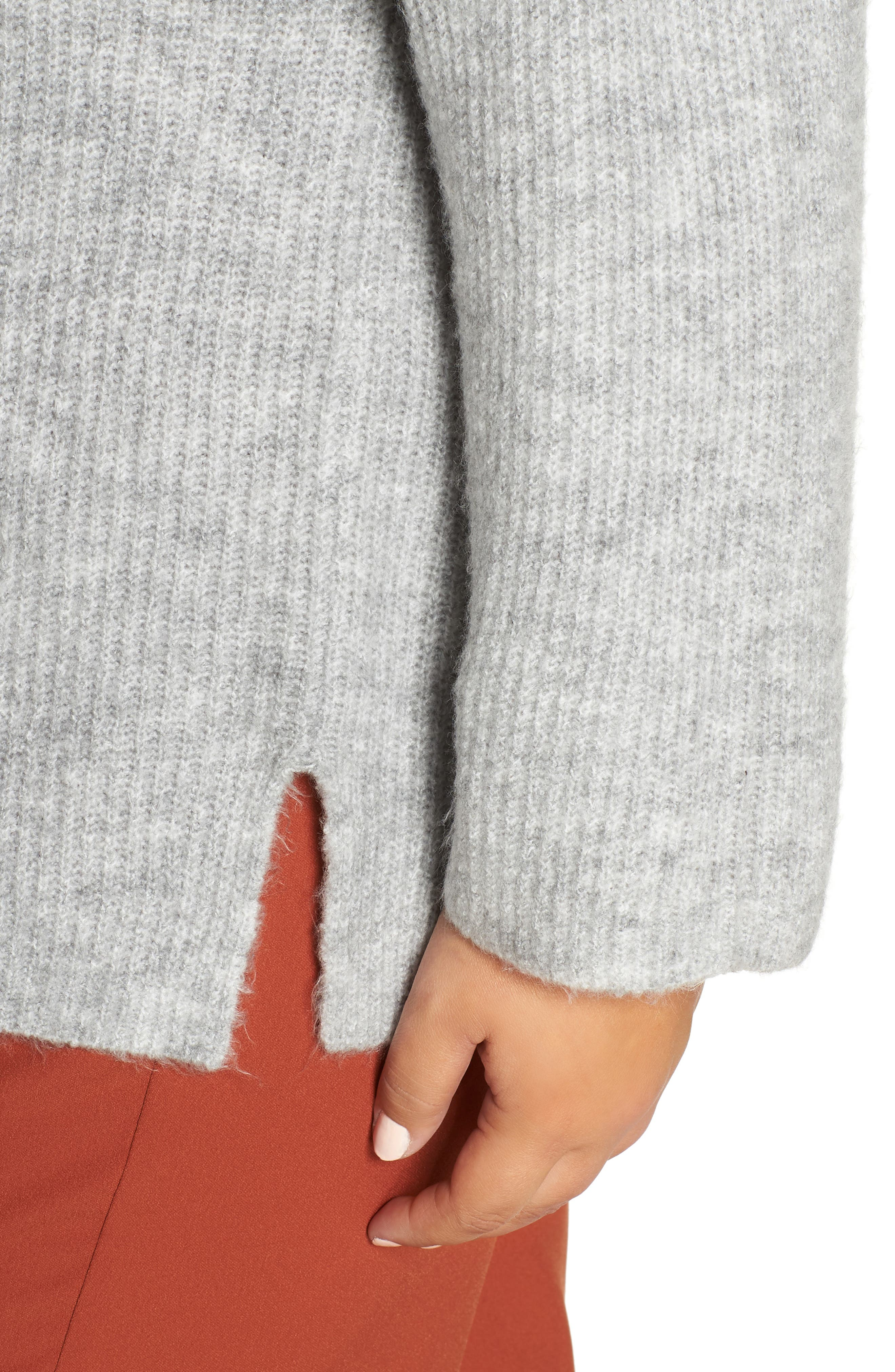 Cozy Femme Pullover Sweater,                             Alternate thumbnail 4, color,                             031