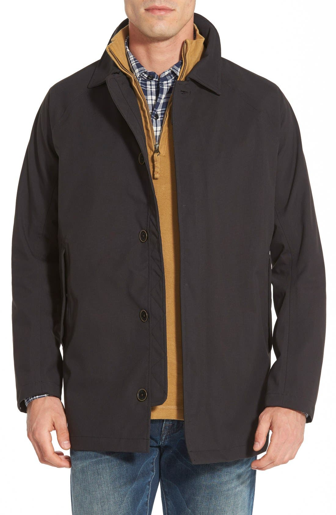 'Ragged Mountain' Waterproof Jacket,                             Main thumbnail 1, color,                             001