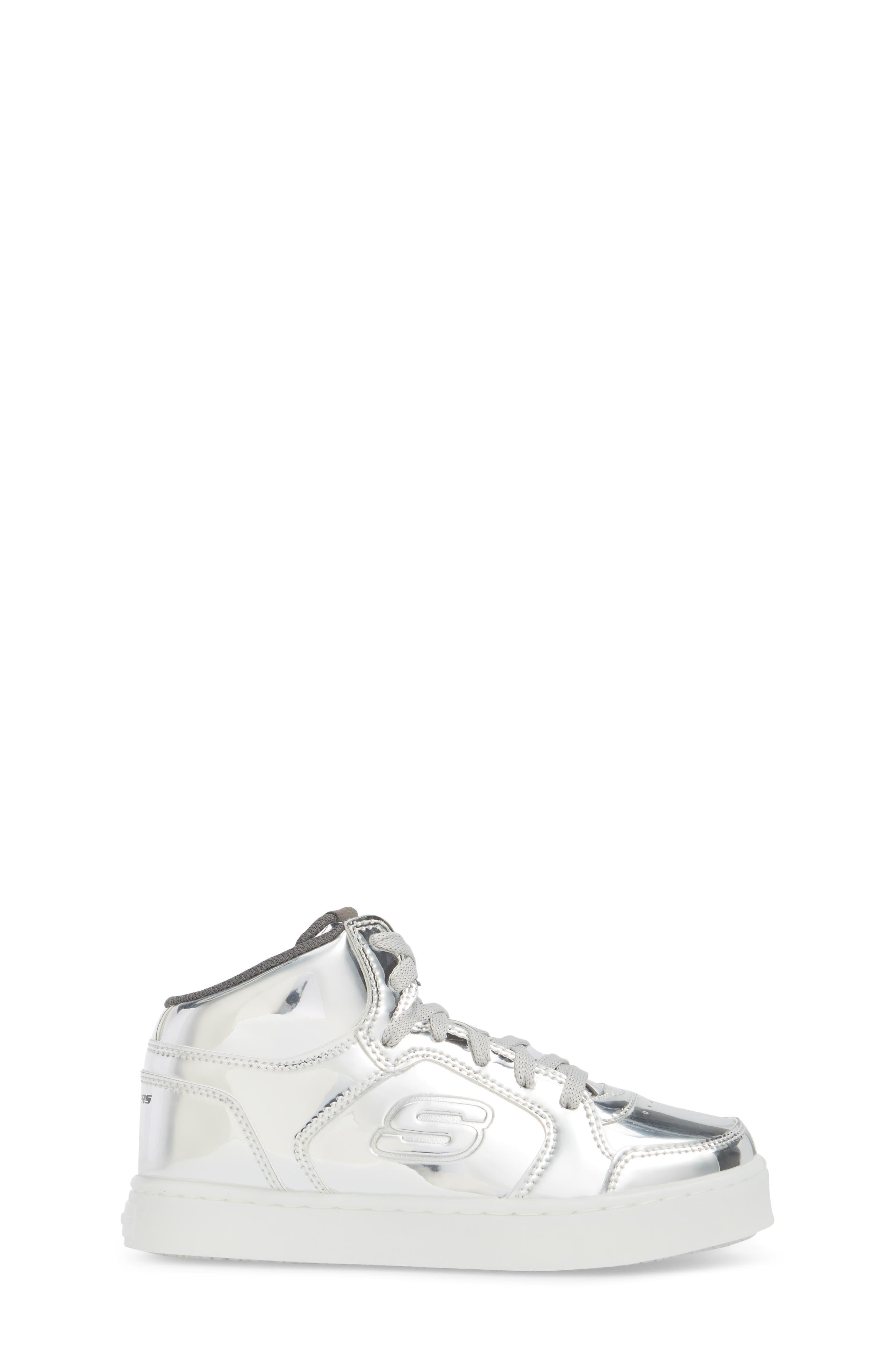 Energy Lights Metallic High Top Sneaker,                             Alternate thumbnail 9, color,