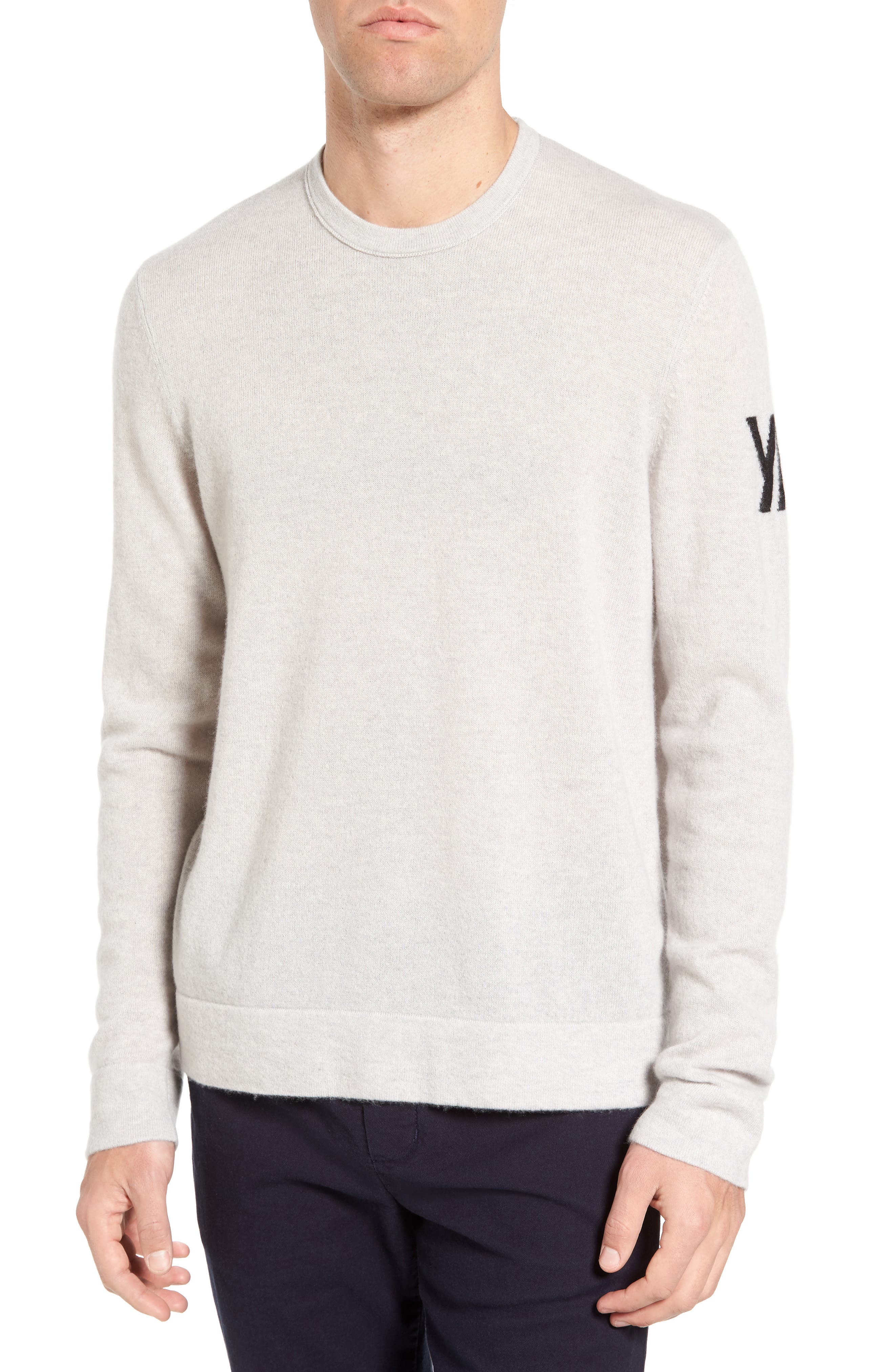 Intarsia Cashmere Sweater,                             Main thumbnail 1, color,                             115