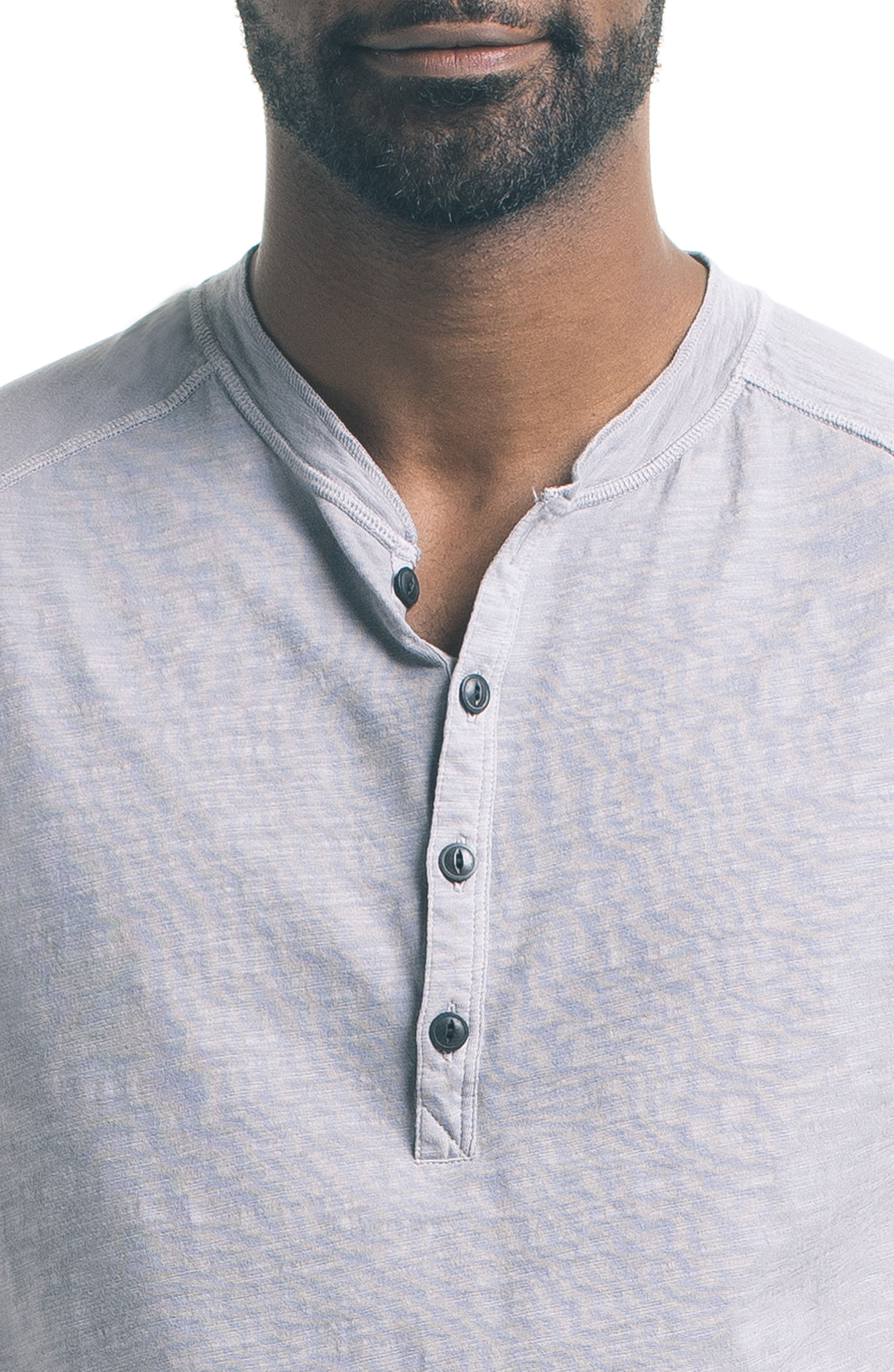 Short Sleeve Slub Henley,                             Alternate thumbnail 19, color,