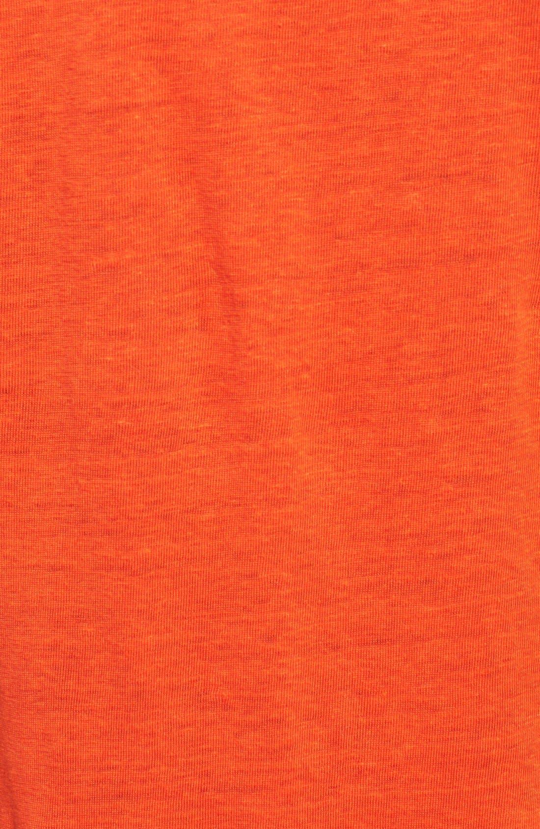 Bateau Neck Organic Linen Tunic,                             Alternate thumbnail 31, color,