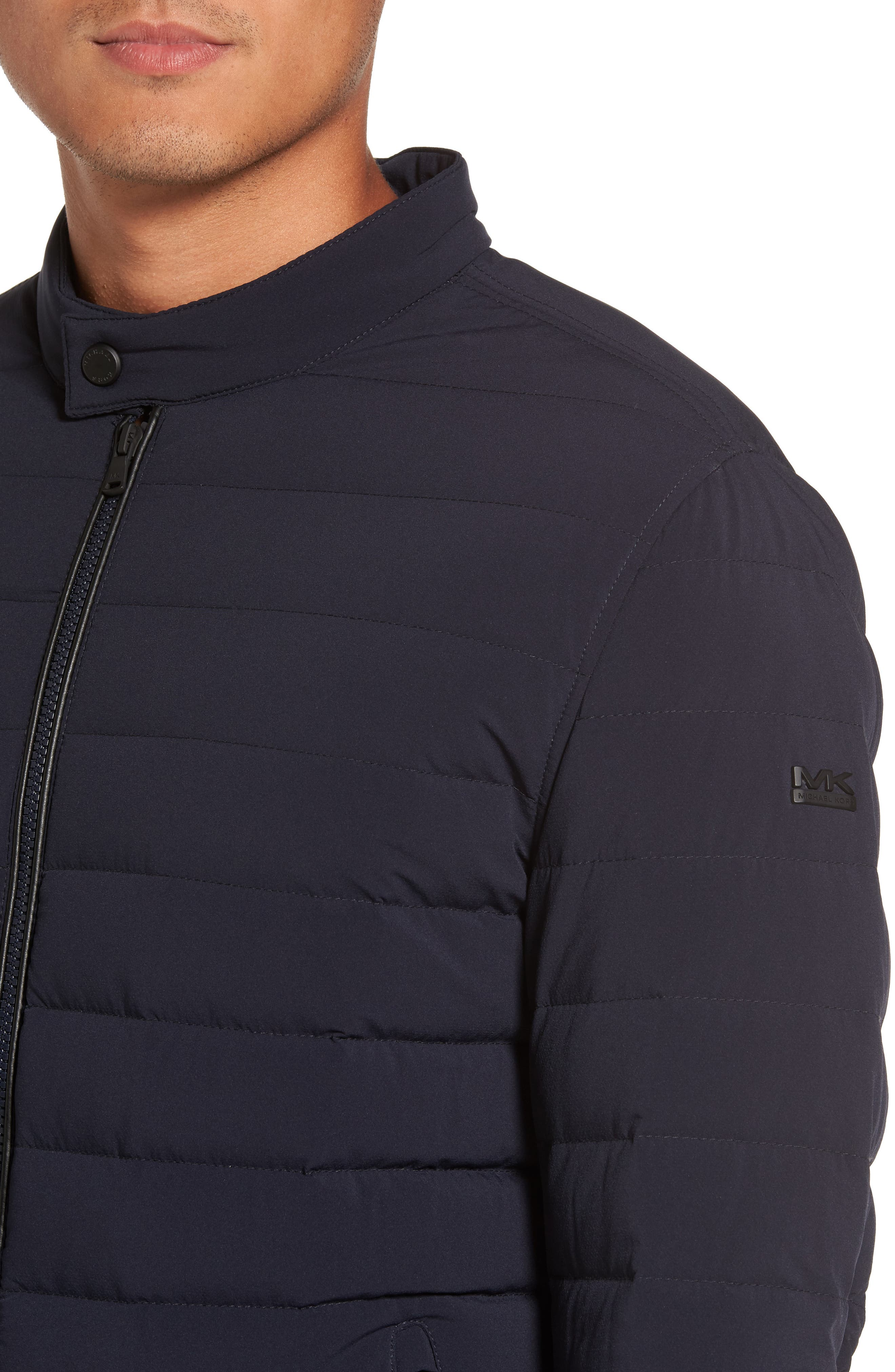 Packable Stretch Down Jacket,                             Alternate thumbnail 18, color,
