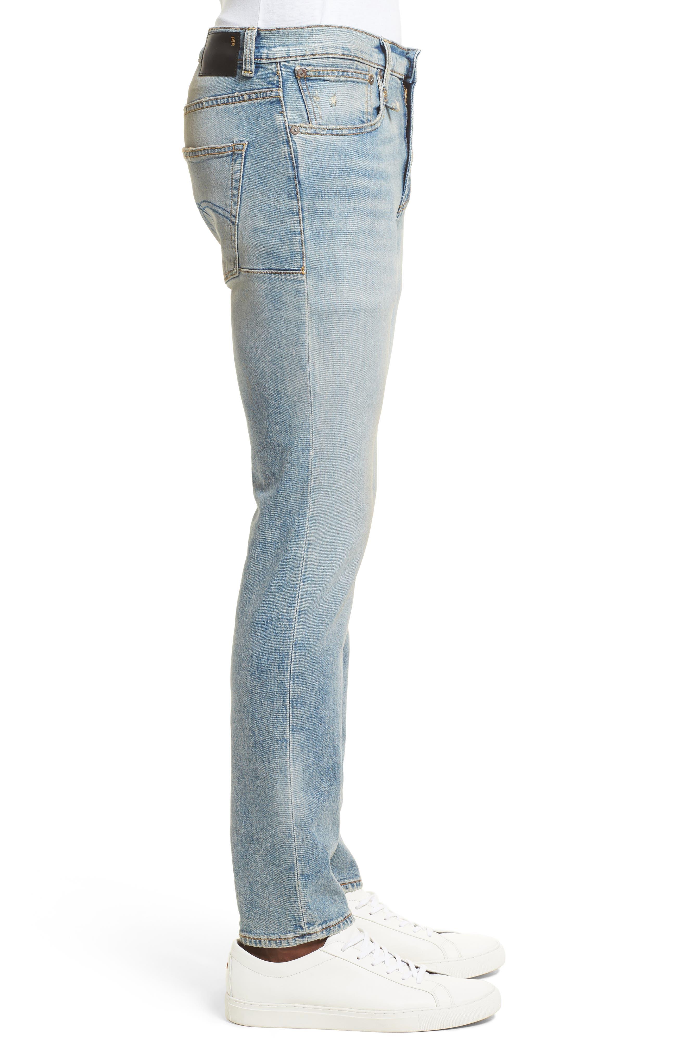 Boy Clean Jeans,                             Alternate thumbnail 3, color,                             LEYTON