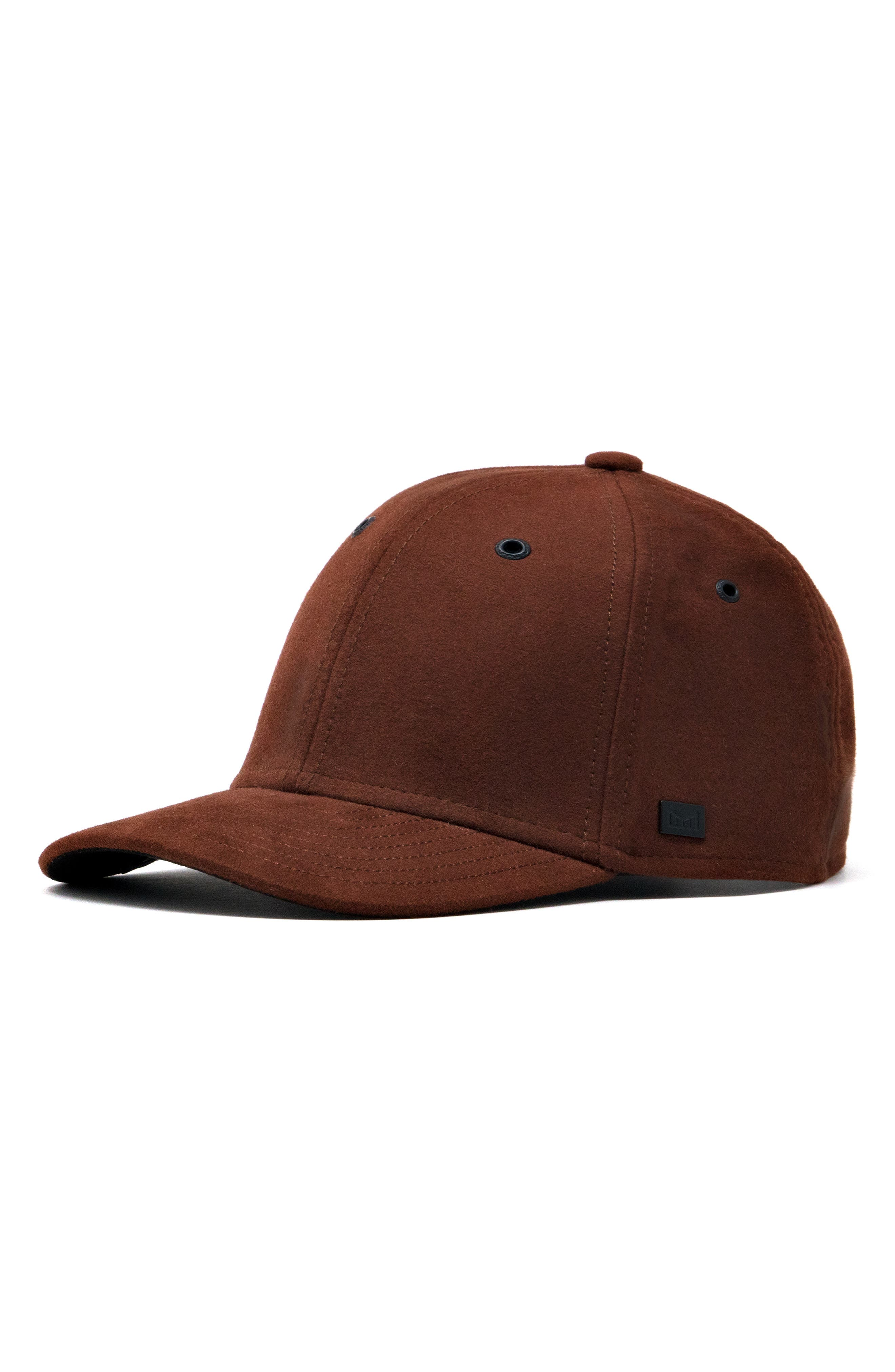 MELIN The Ace Sueded Cotton Cap in Rust