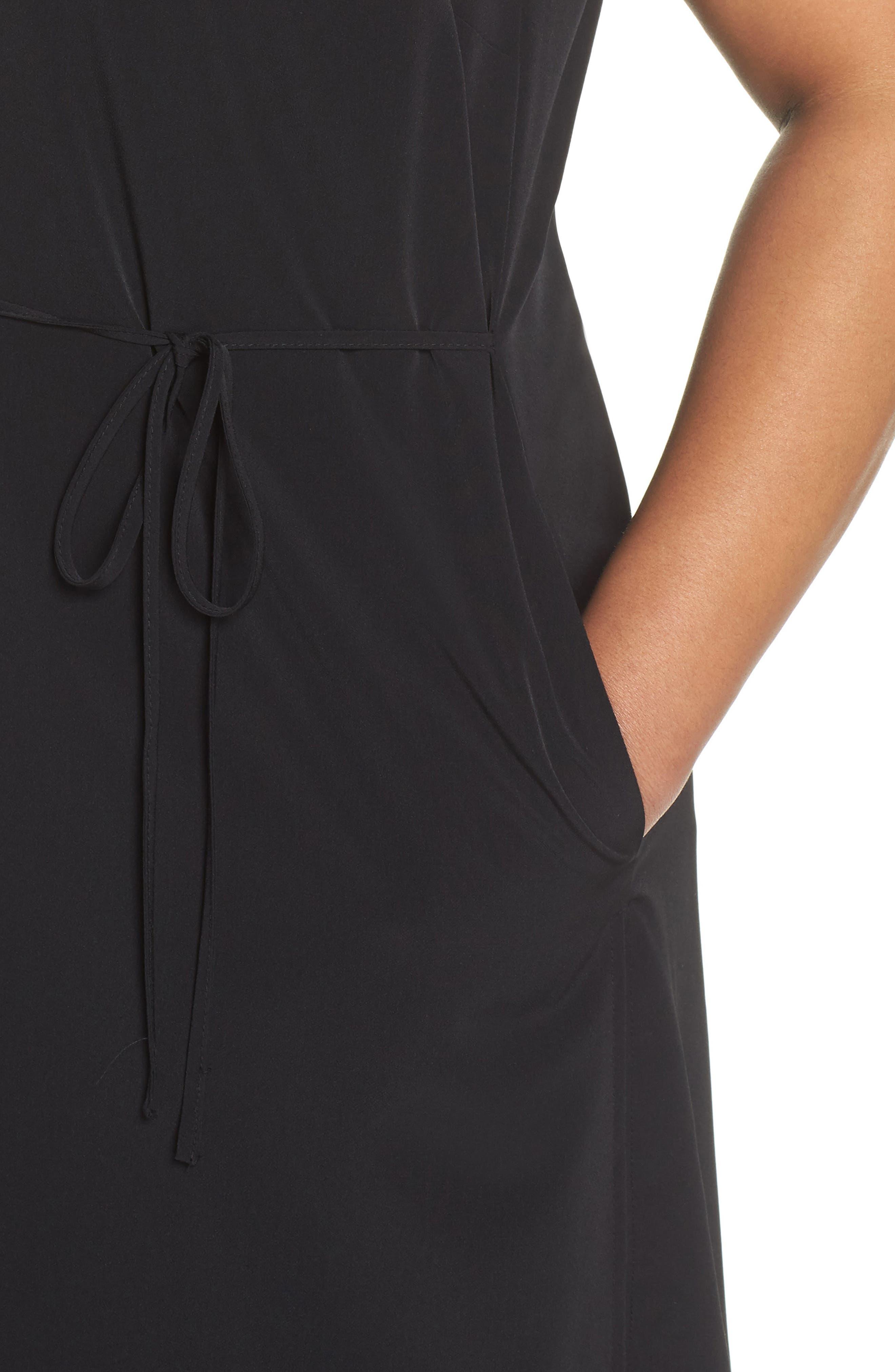 Duster Vest,                             Alternate thumbnail 4, color,                             BLACK