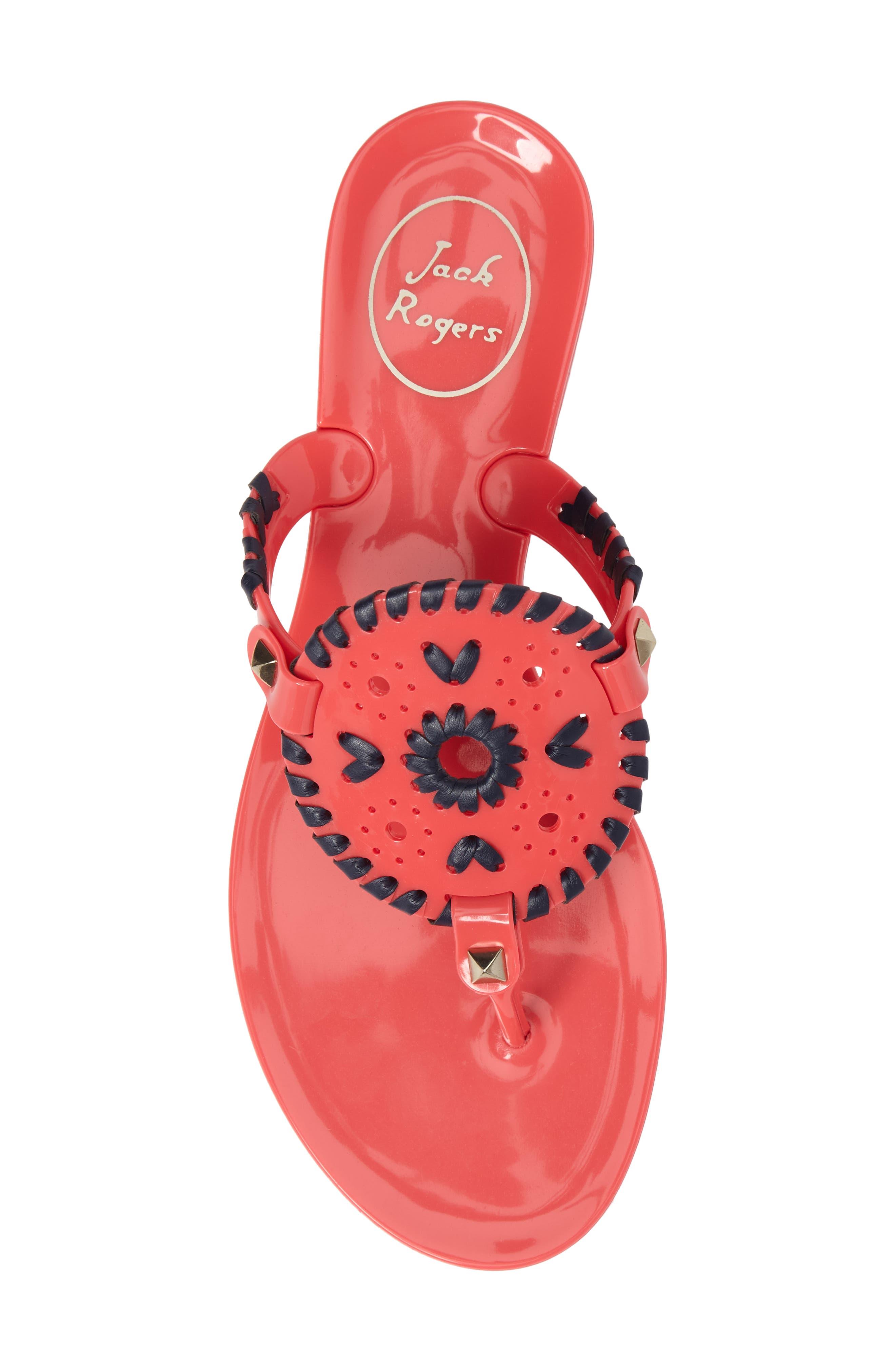 'Georgica' Jelly Flip Flop,                             Alternate thumbnail 170, color,