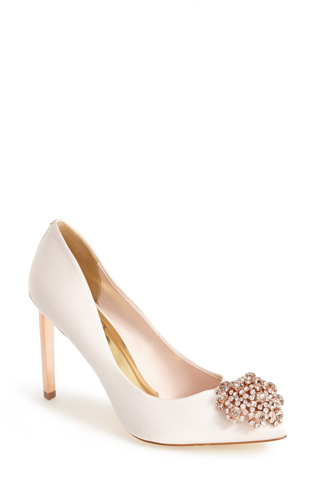 'Peetch' Pointy Toe Pump,                             Main thumbnail 7, color,