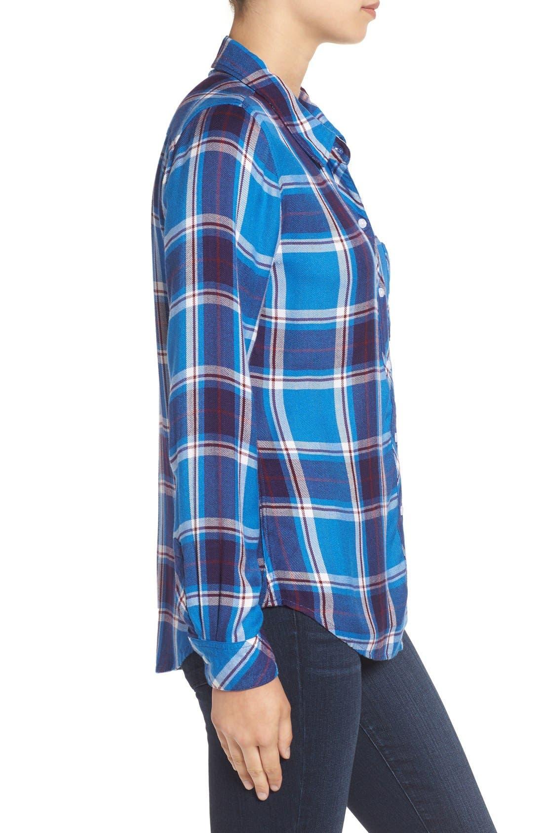 Hunter Plaid Shirt,                             Alternate thumbnail 527, color,