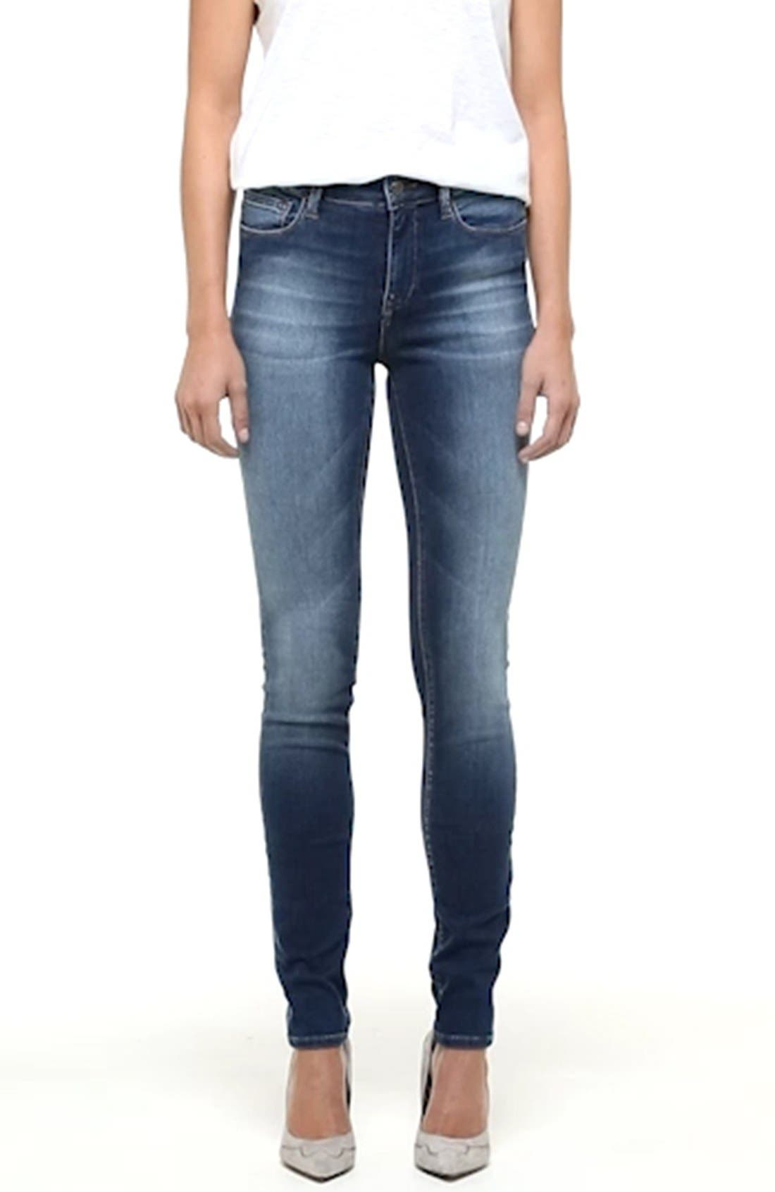 'Alissa' Skinny Jeans,                             Alternate thumbnail 2, color,                             401