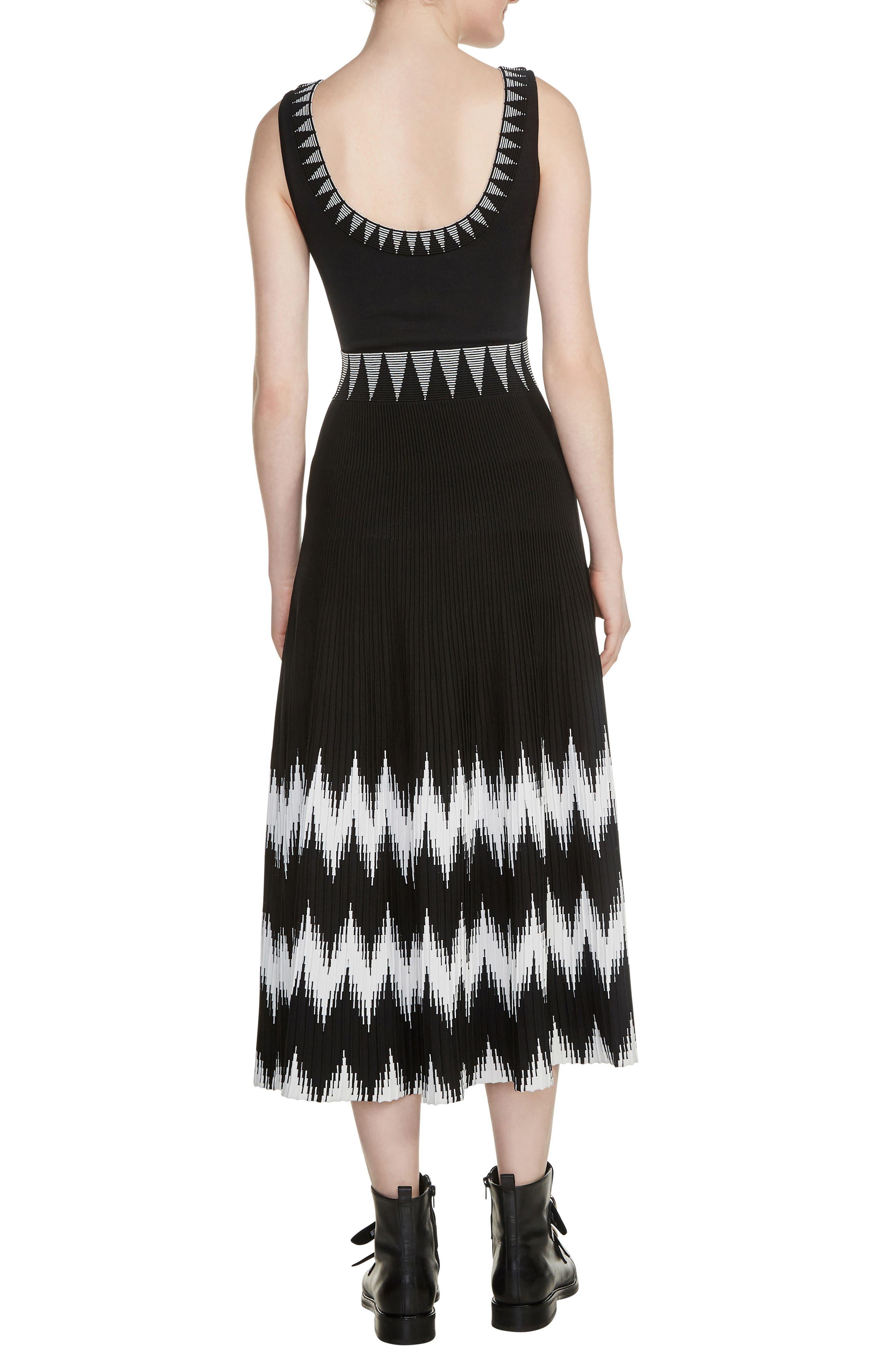 Ruche Midi Dress,                             Alternate thumbnail 2, color,