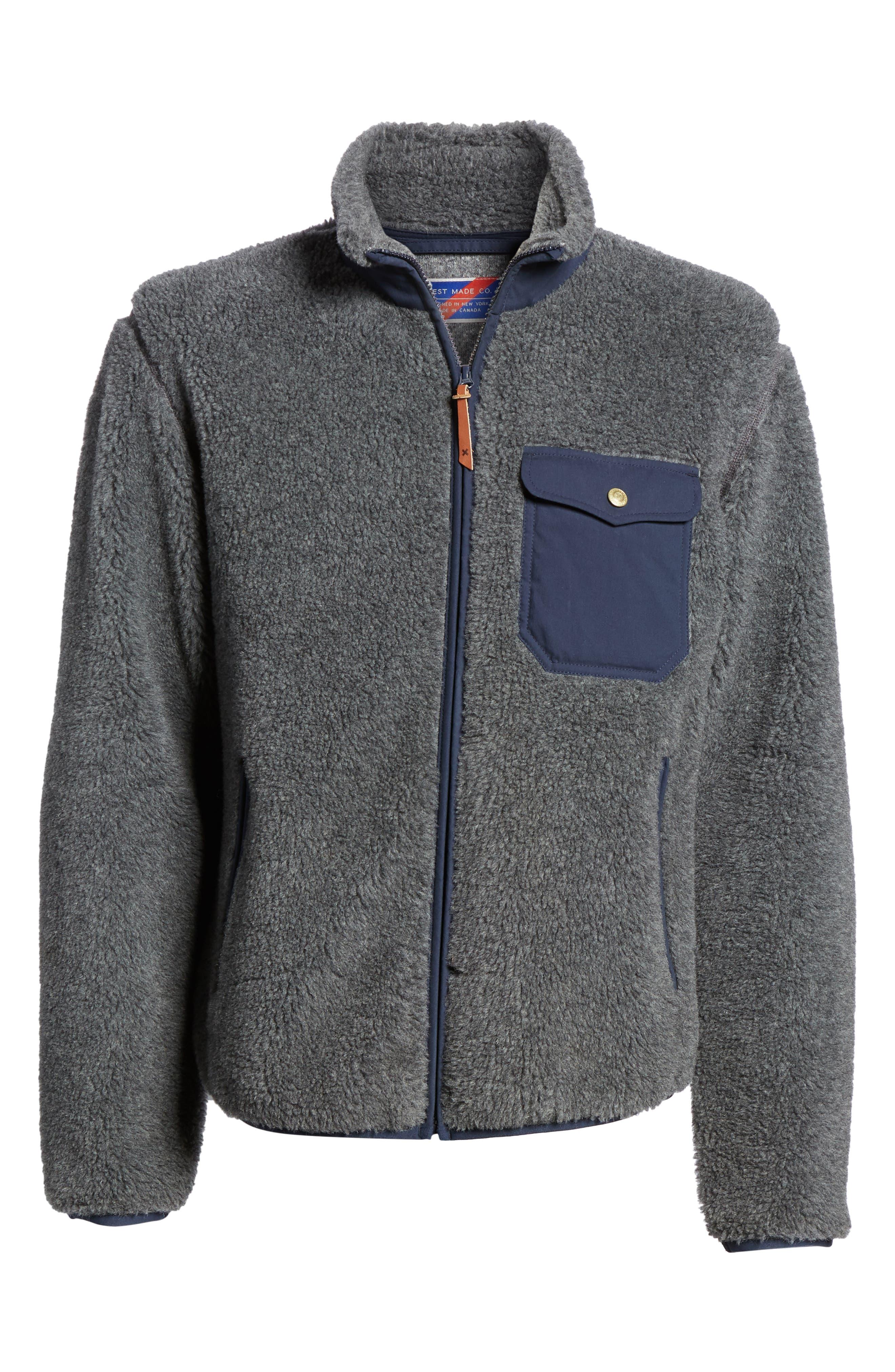 Best Made Co. The Wool Fleece Jacket, Grey