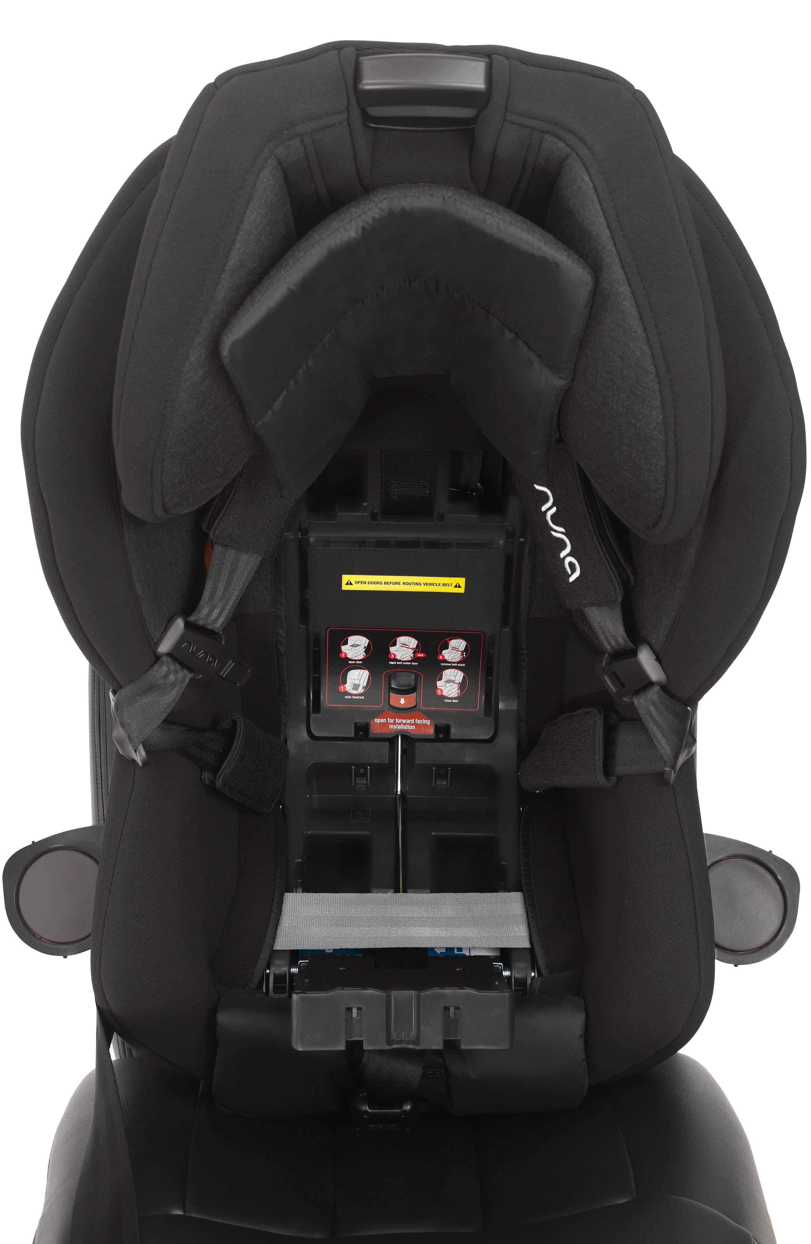 NUNA,                             RAVA<sup>™</sup> Convertible Car Seat,                             Alternate thumbnail 5, color,                             VERONA CAVIAR