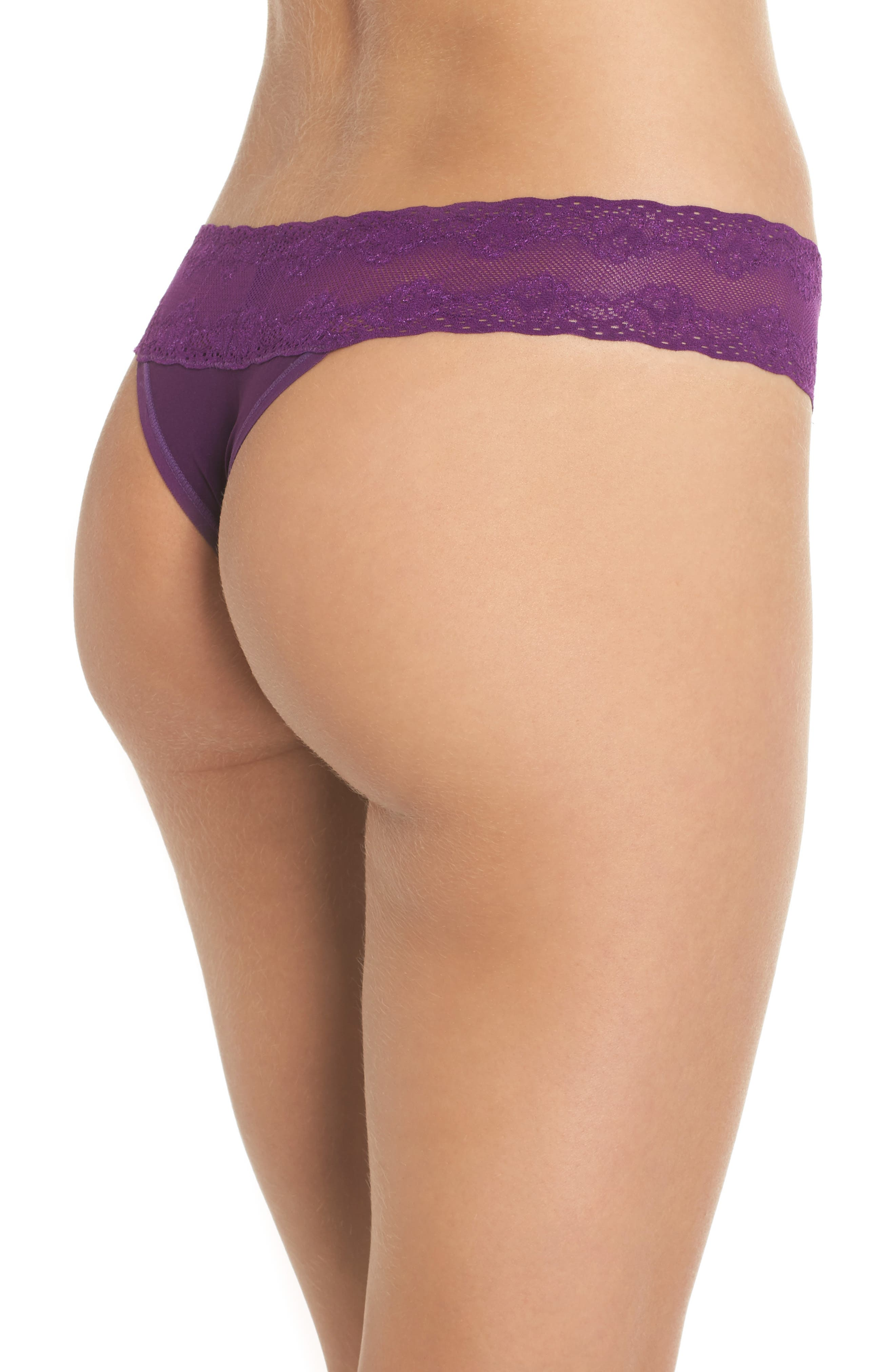 Bliss Perfection Thong,                             Alternate thumbnail 120, color,