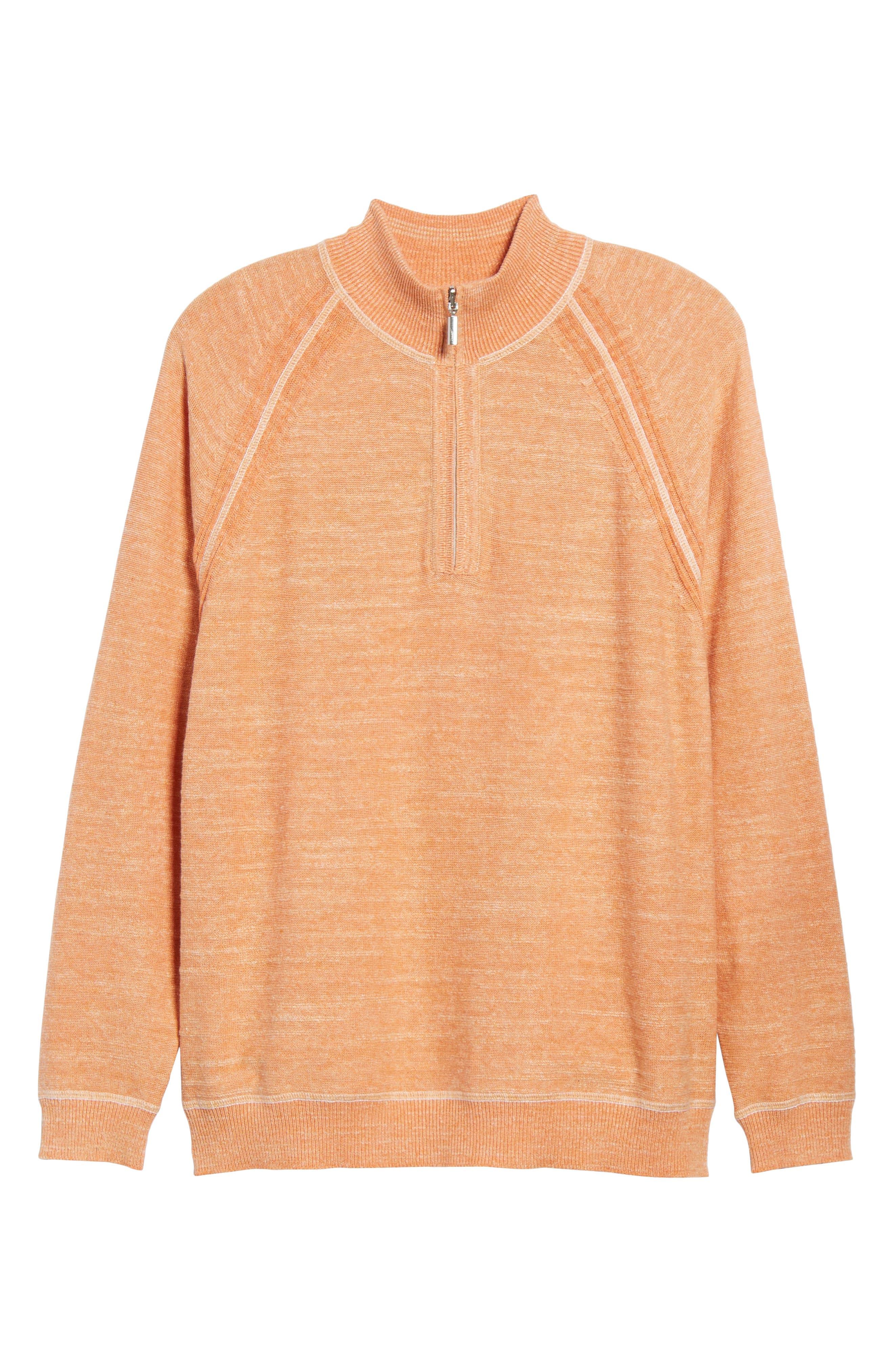 Sandy Bay Half-Zip Pullover,                             Alternate thumbnail 18, color,