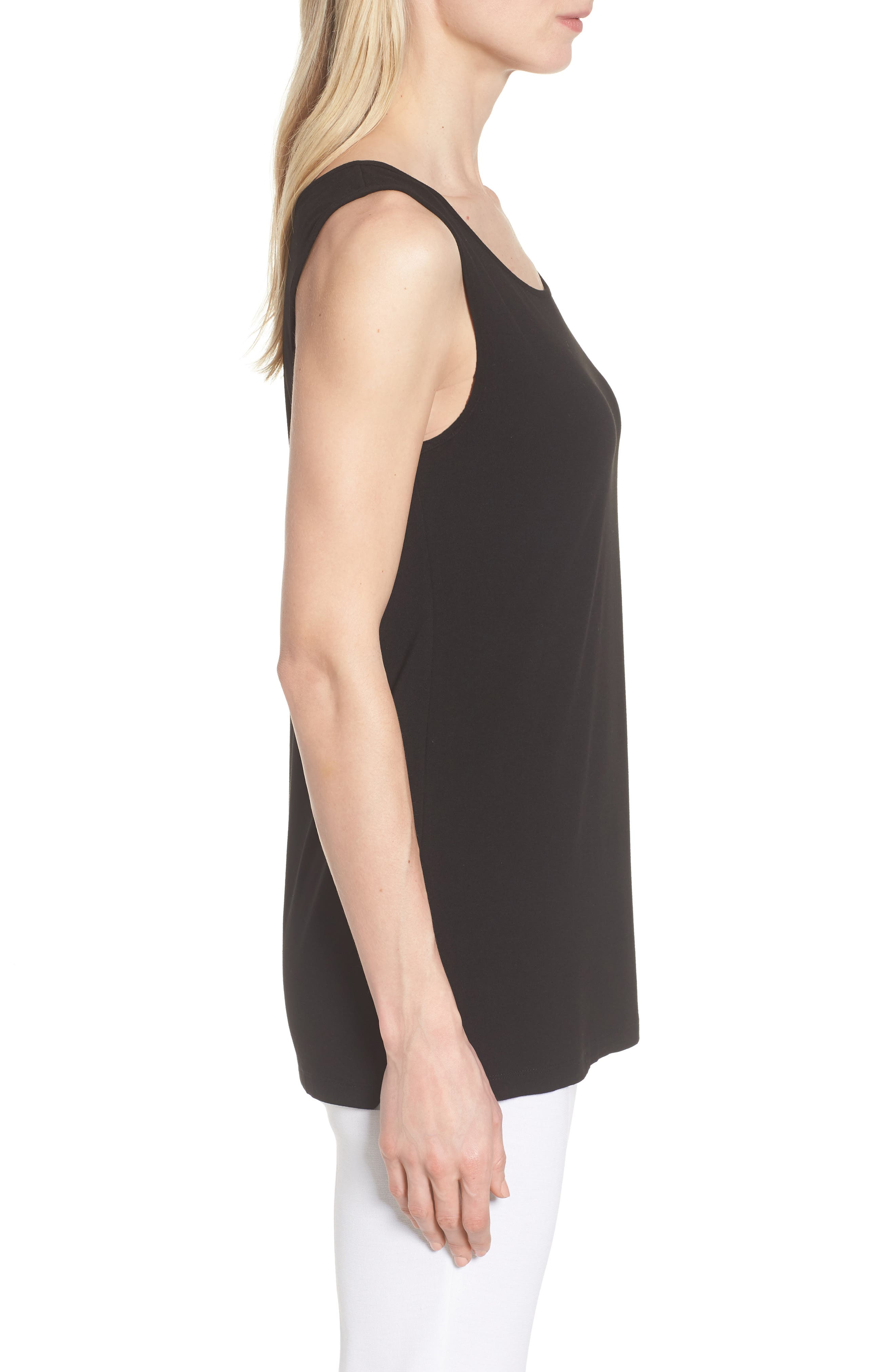 Mang Wang Jersey Tank,                             Alternate thumbnail 3, color,                             BLACK