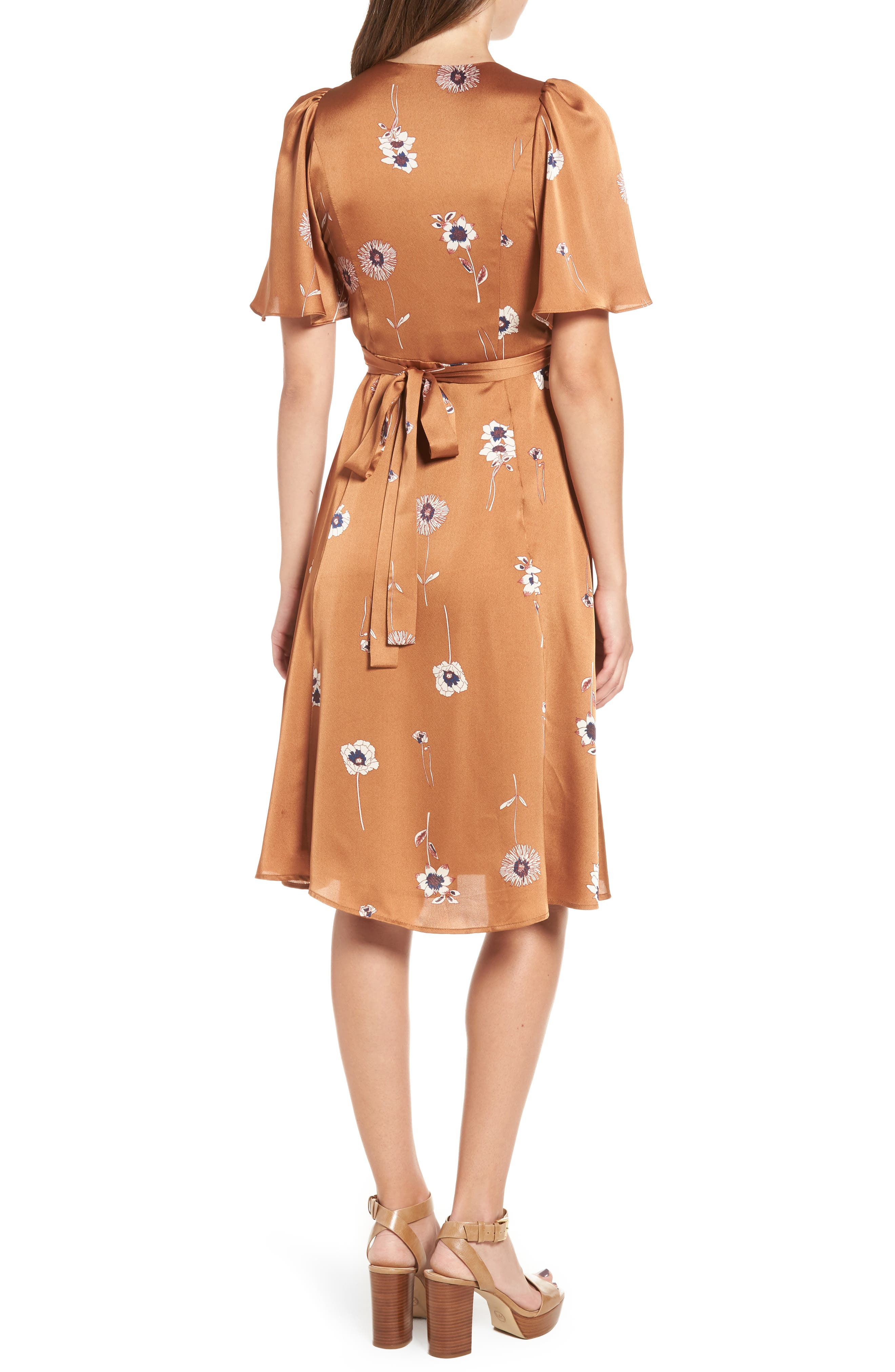 Fiona Wrap Dress,                             Alternate thumbnail 2, color,                             202