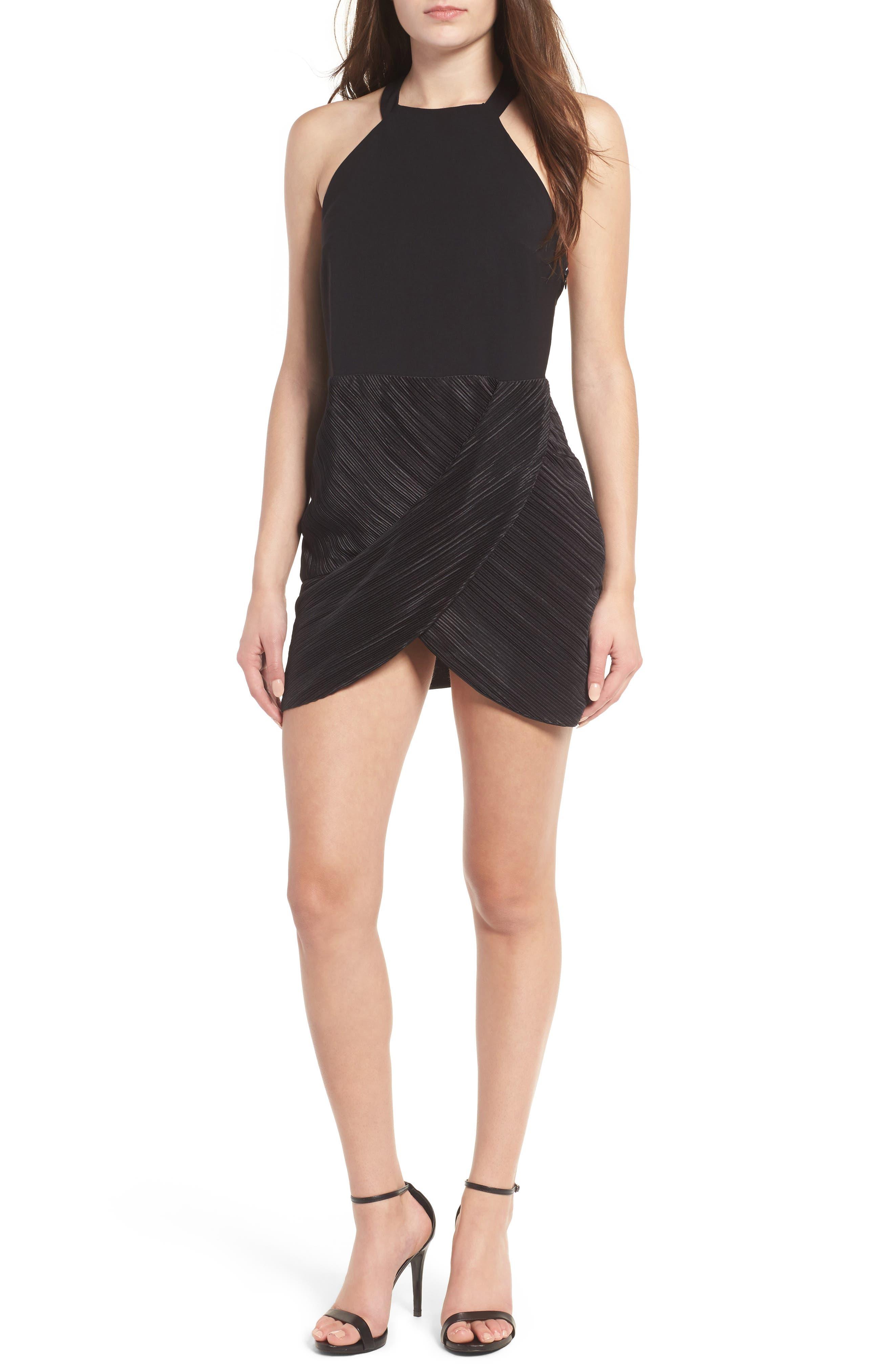 NBD Evelyn T-Back Dress, Main, color, 001