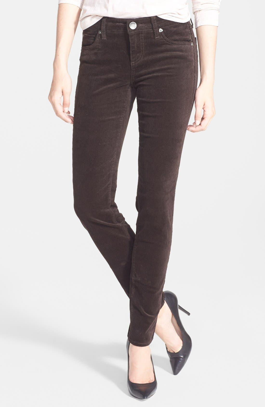 'Diana' Stretch Corduroy Skinny Pants,                             Main thumbnail 7, color,