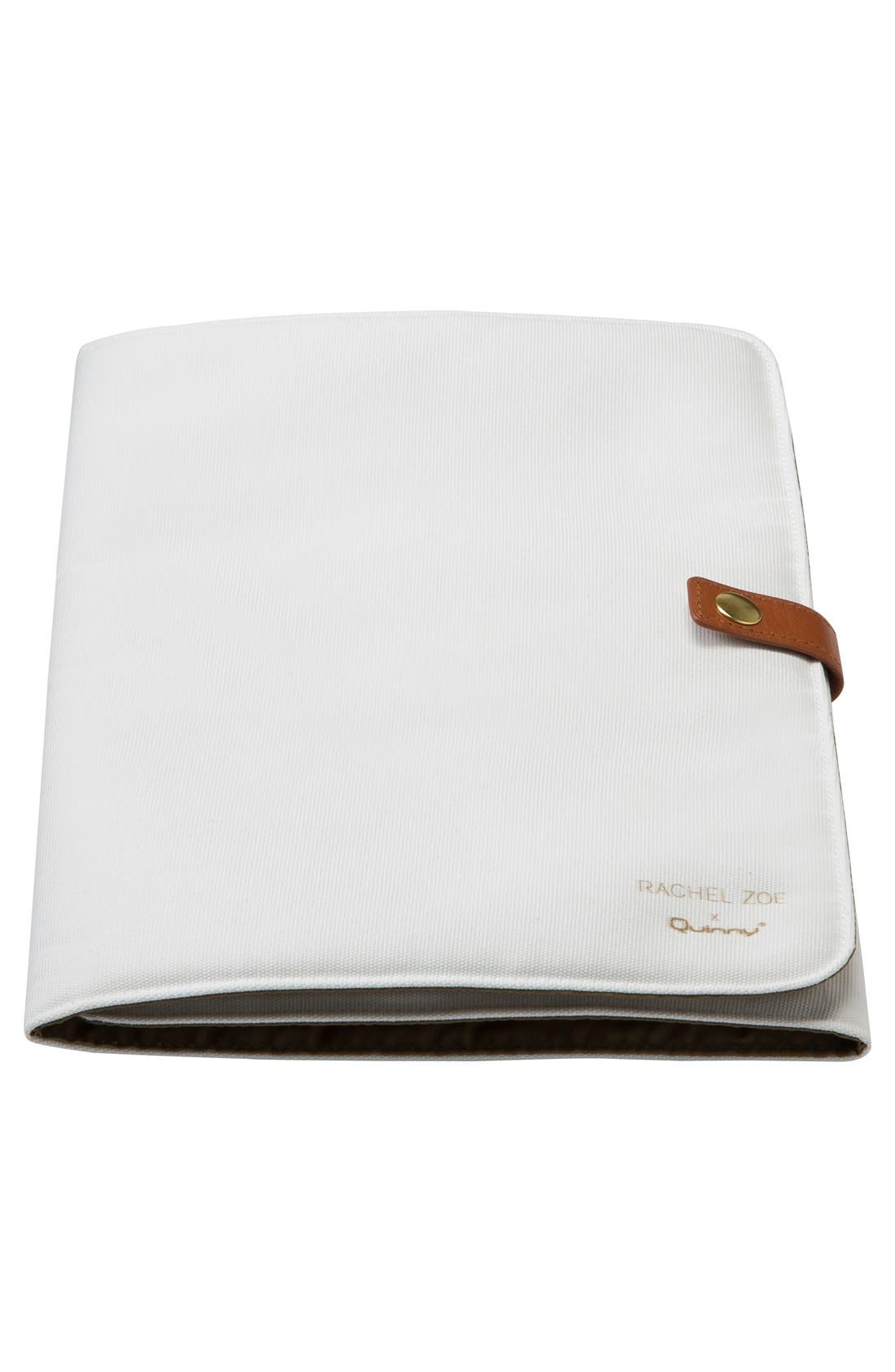 x Rachel Zoe 'Jet Set' Canvas Diaper Bag,                             Alternate thumbnail 11, color,                             100