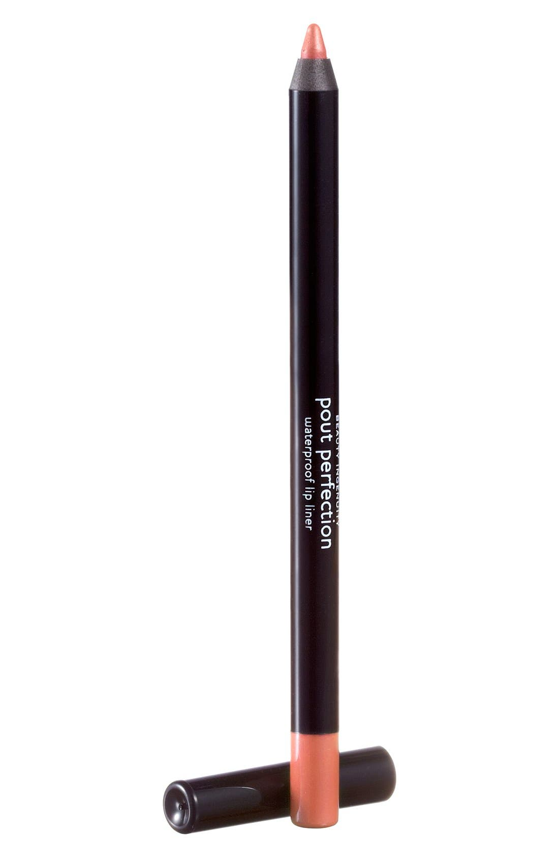'Pout Perfection' Waterproof Lip Liner,                         Main,                         color, BLOSSOM