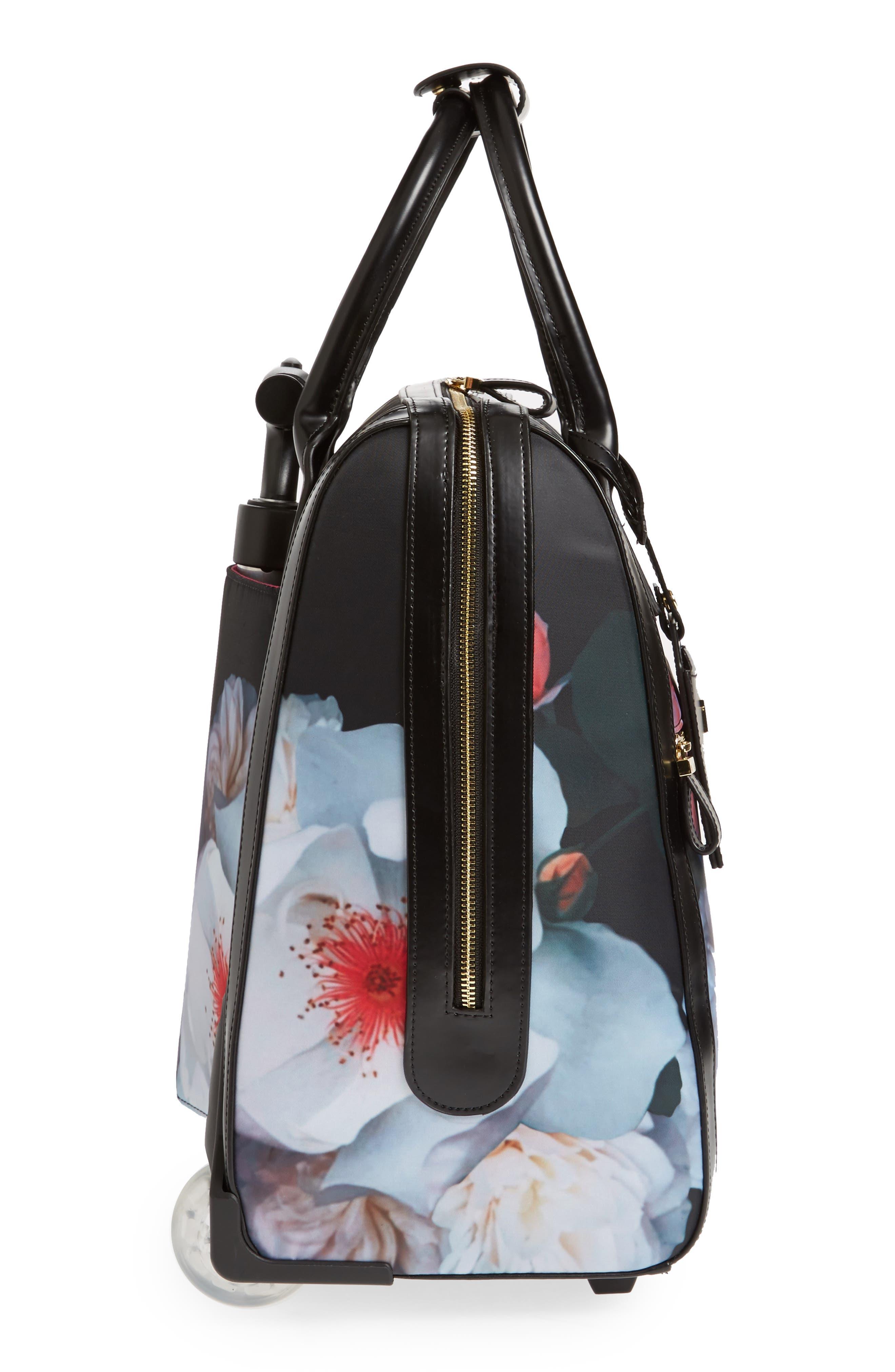 Evi Chelsea Wheeled Travel Bag,                             Alternate thumbnail 3, color,                             001
