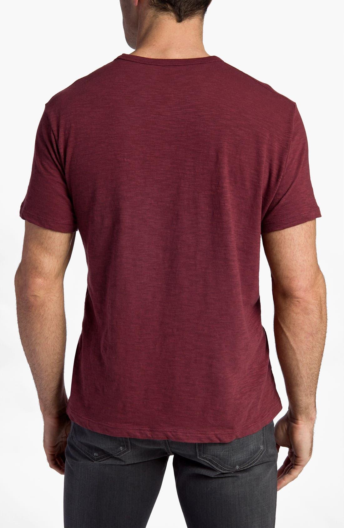 'Chicago Cubs' Regular Fit Crewneck T-Shirt,                             Alternate thumbnail 70, color,