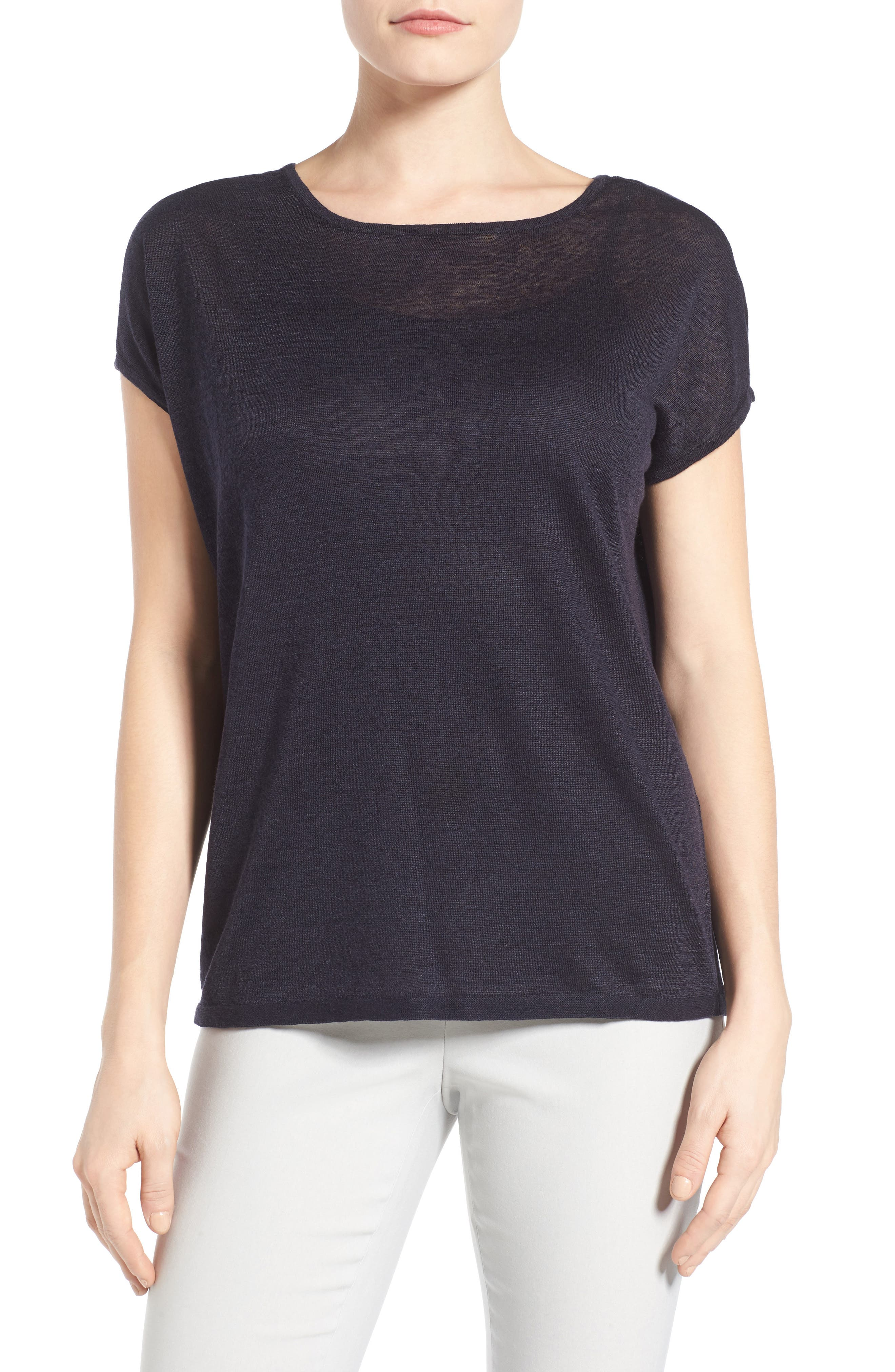 Everyday Tissue Weight Tee,                             Main thumbnail 5, color,