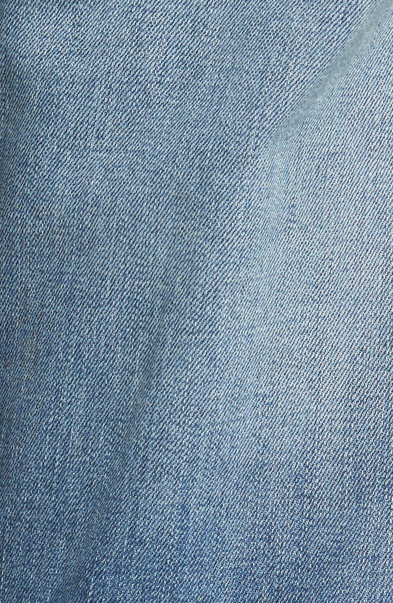 Slim Fit Jeans,                             Alternate thumbnail 5, color,                             135