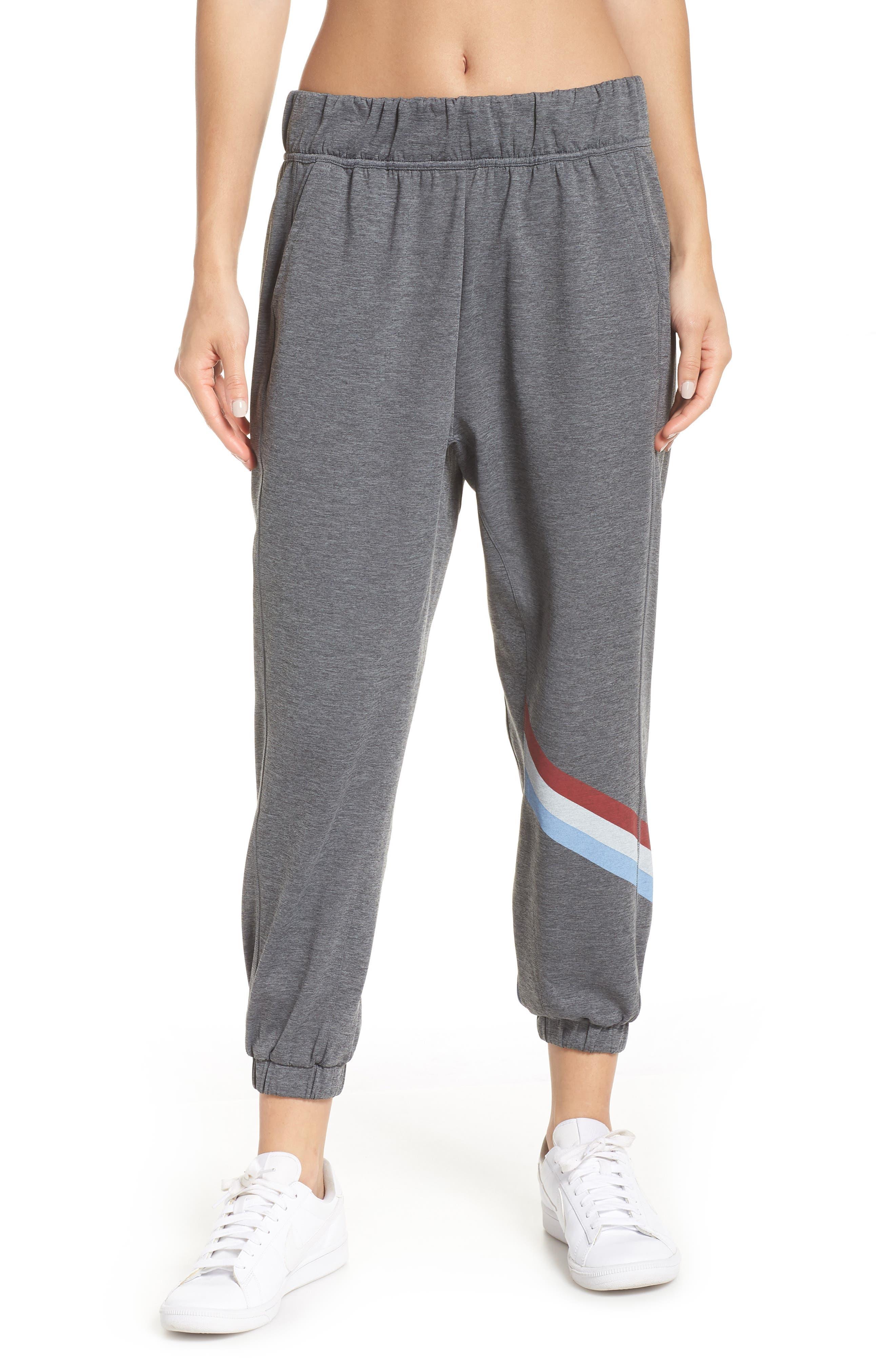 Cool Down Swirl Stripe Sweatpants,                         Main,                         color, 020