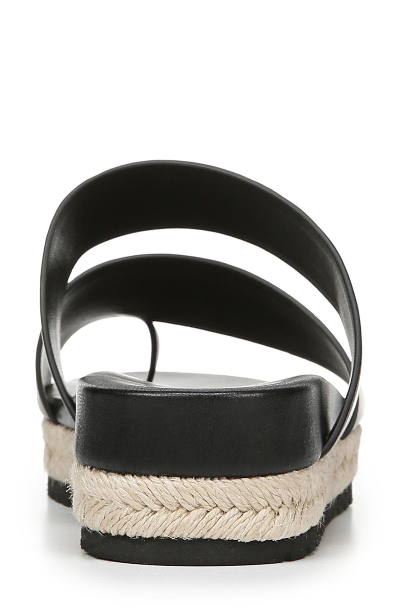 VINCE,                             Floyd Platform Slide Sandal,                             Alternate thumbnail 7, color,                             BLACK