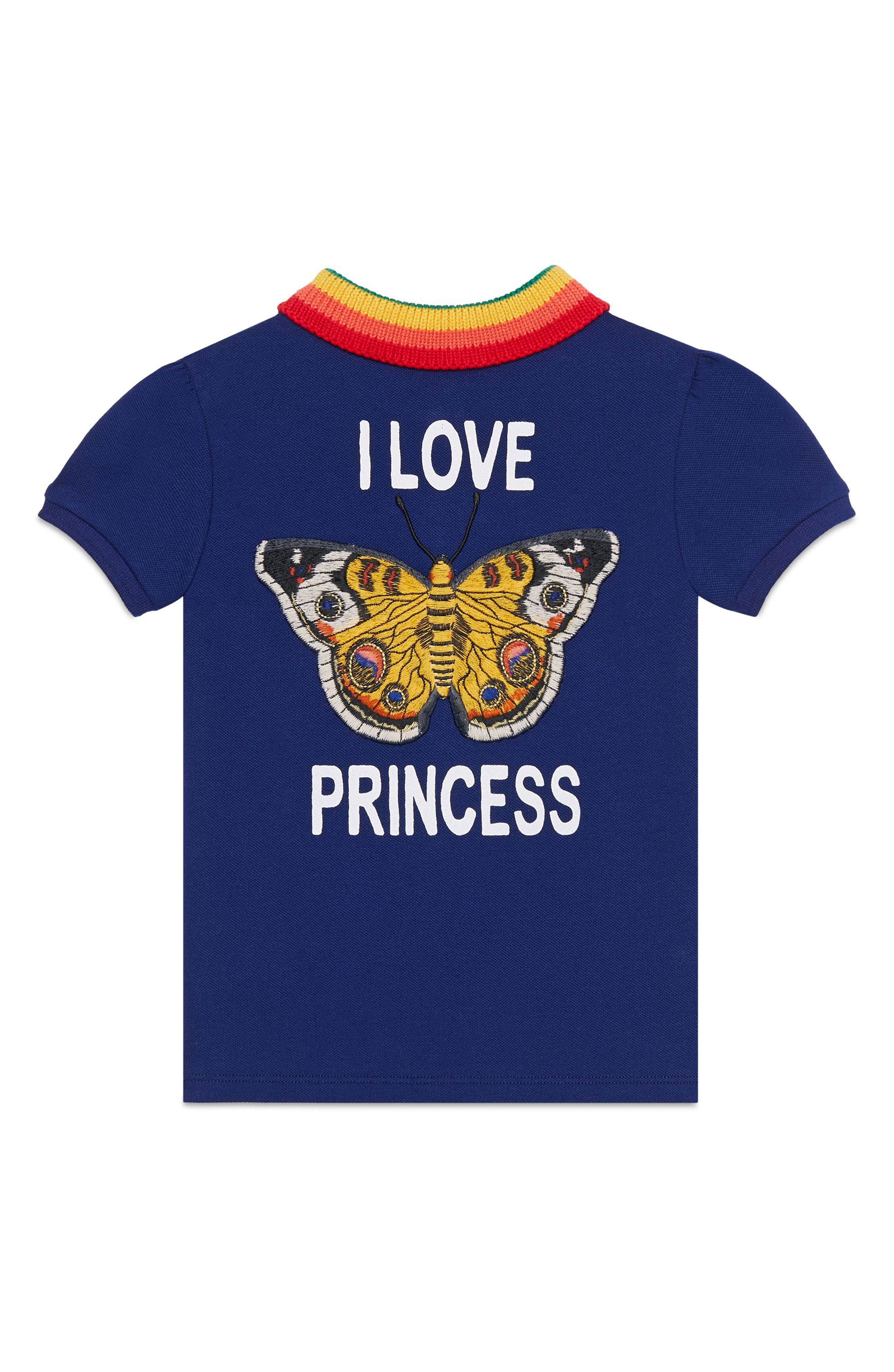 I Love Princess Piqué Polo,                             Alternate thumbnail 2, color,                             406