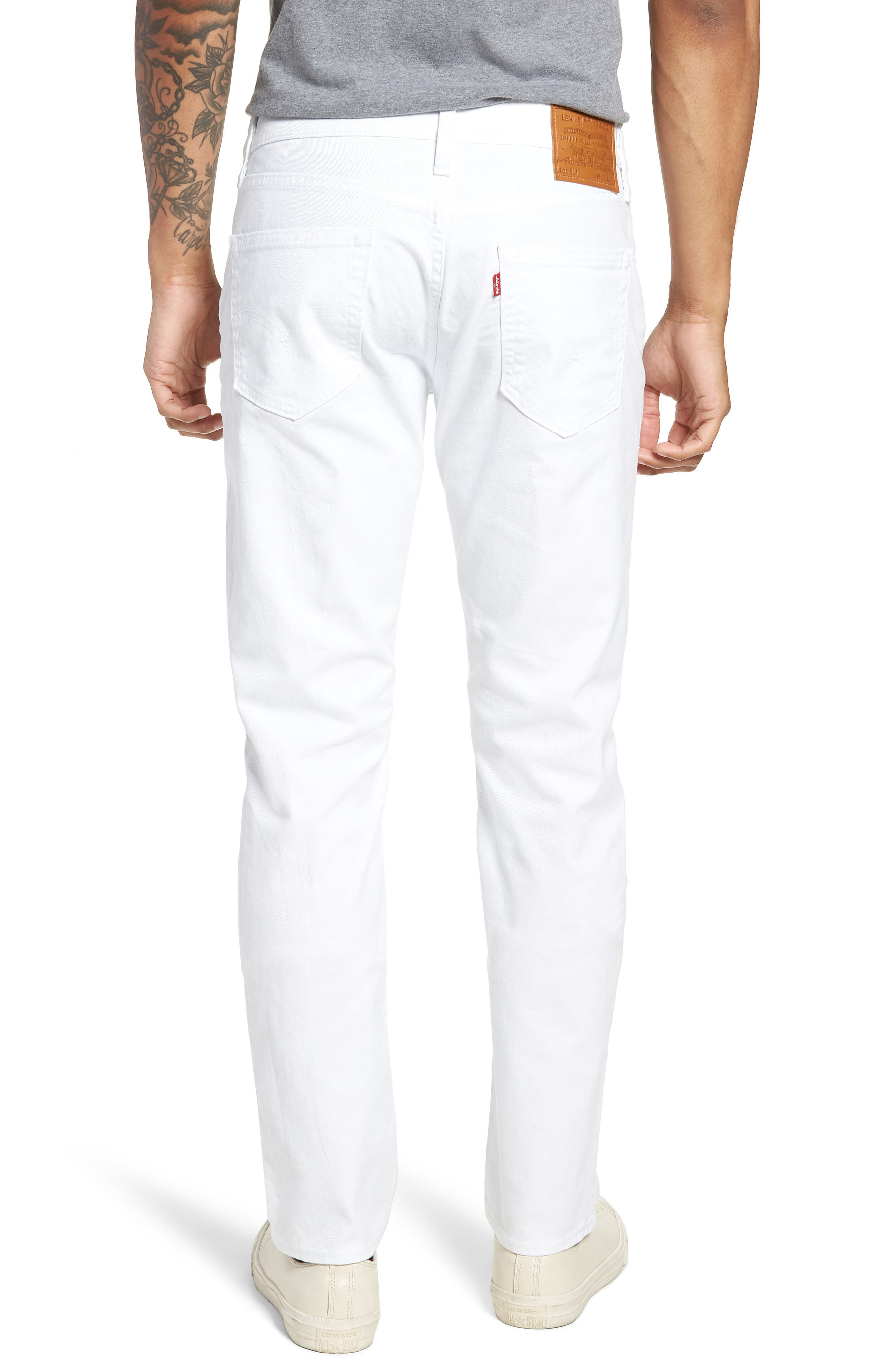 511<sup>™</sup> Slim Fit Jeans,                             Alternate thumbnail 2, color,                             WHITE BULL DENIM II