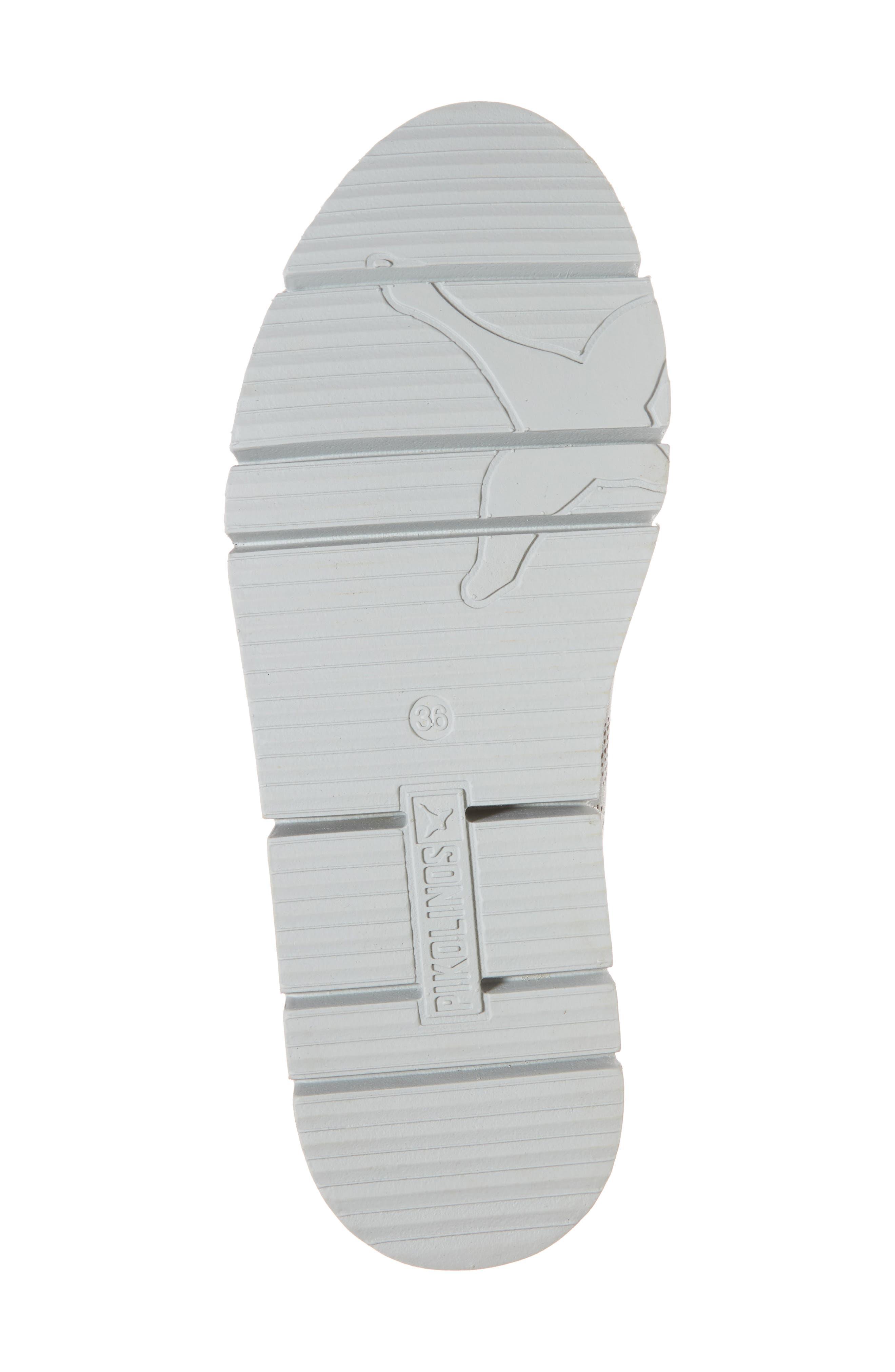 Vera Sneaker,                             Alternate thumbnail 6, color,                             AQUA LEATHER