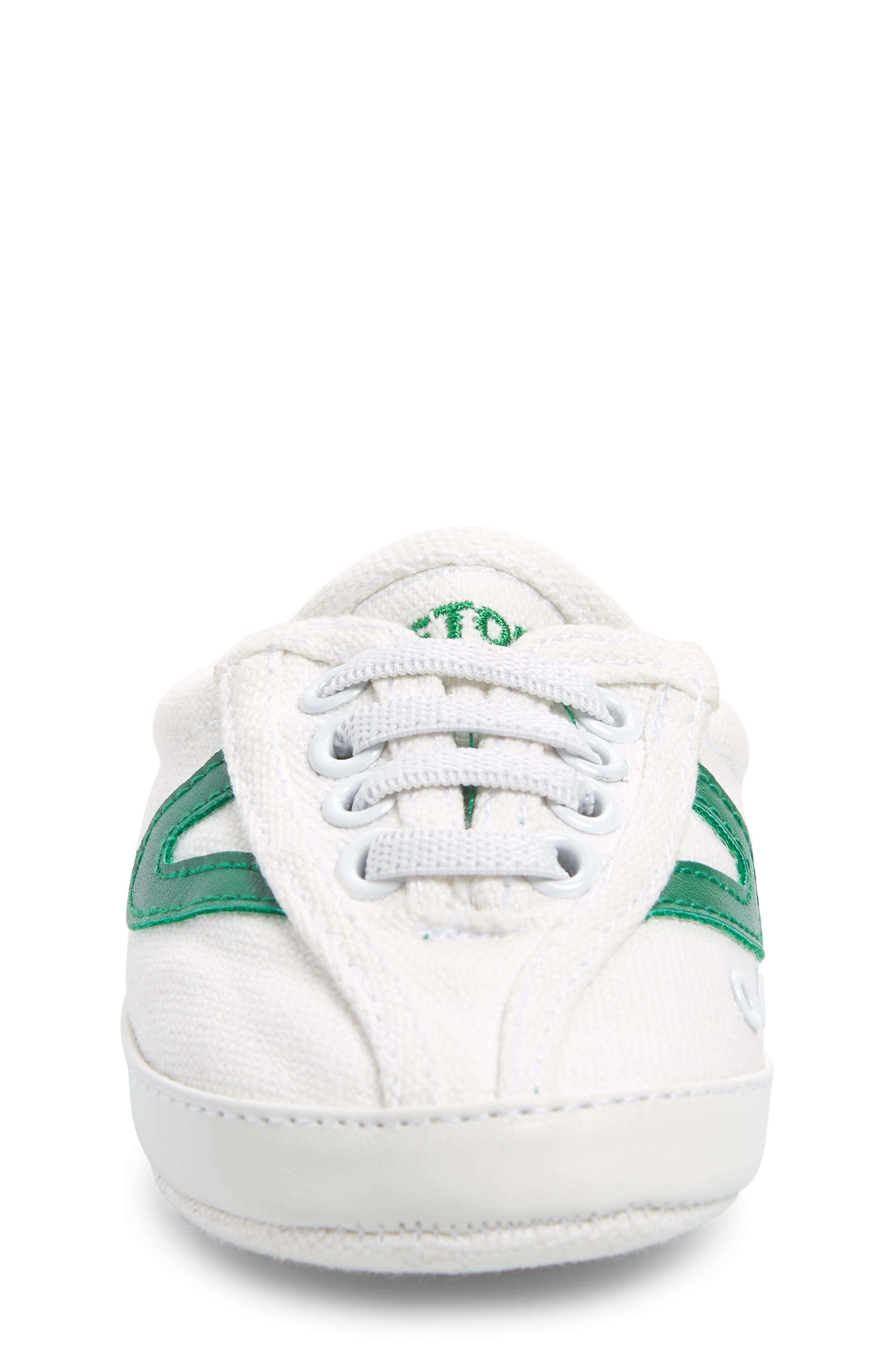 Nylite Plus Sneaker,                             Alternate thumbnail 4, color,                             WHITE/ GREEN