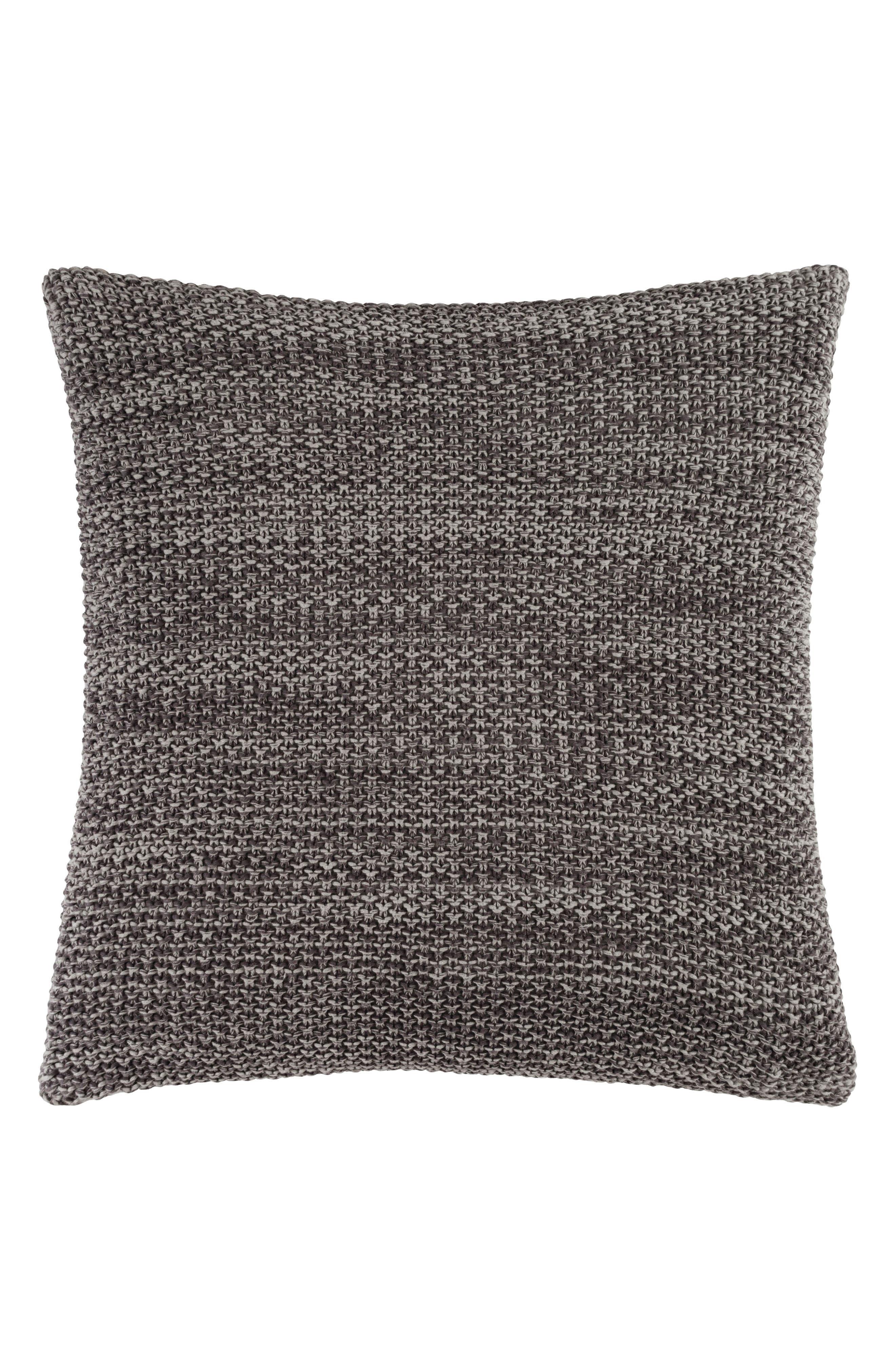 Orino Accent Pillow,                             Main thumbnail 1, color,                             GREY/ CHARCOAL