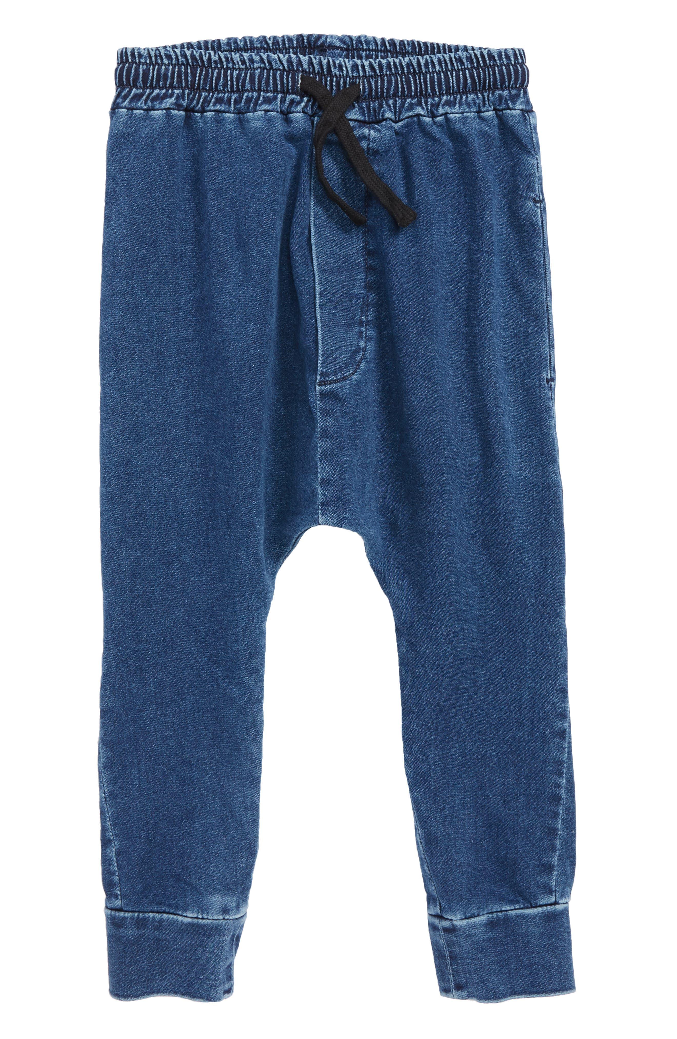 Basic Denim Pants,                             Main thumbnail 1, color,                             DENIM