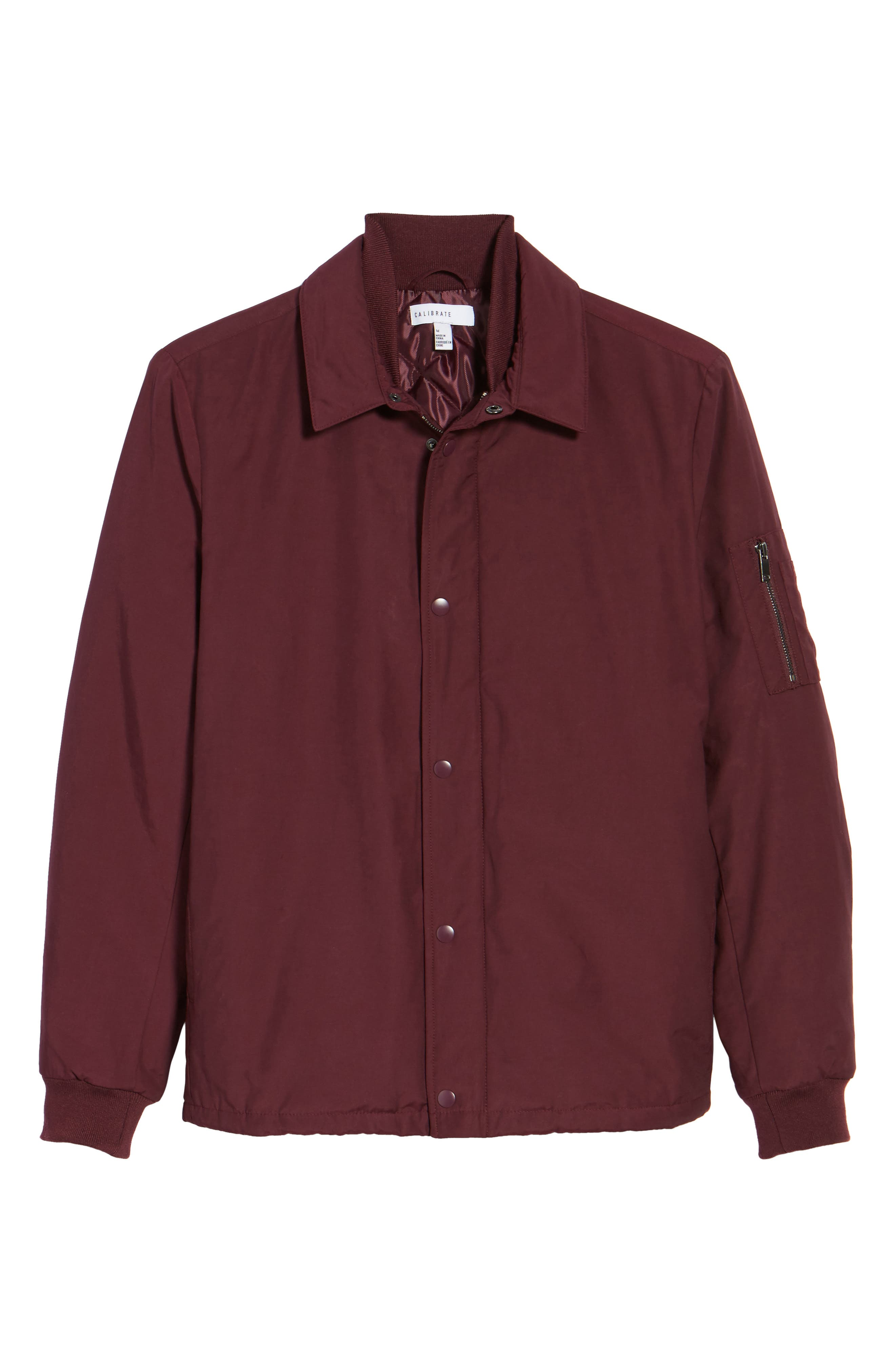 Collared Bomber Jacket,                             Alternate thumbnail 10, color,